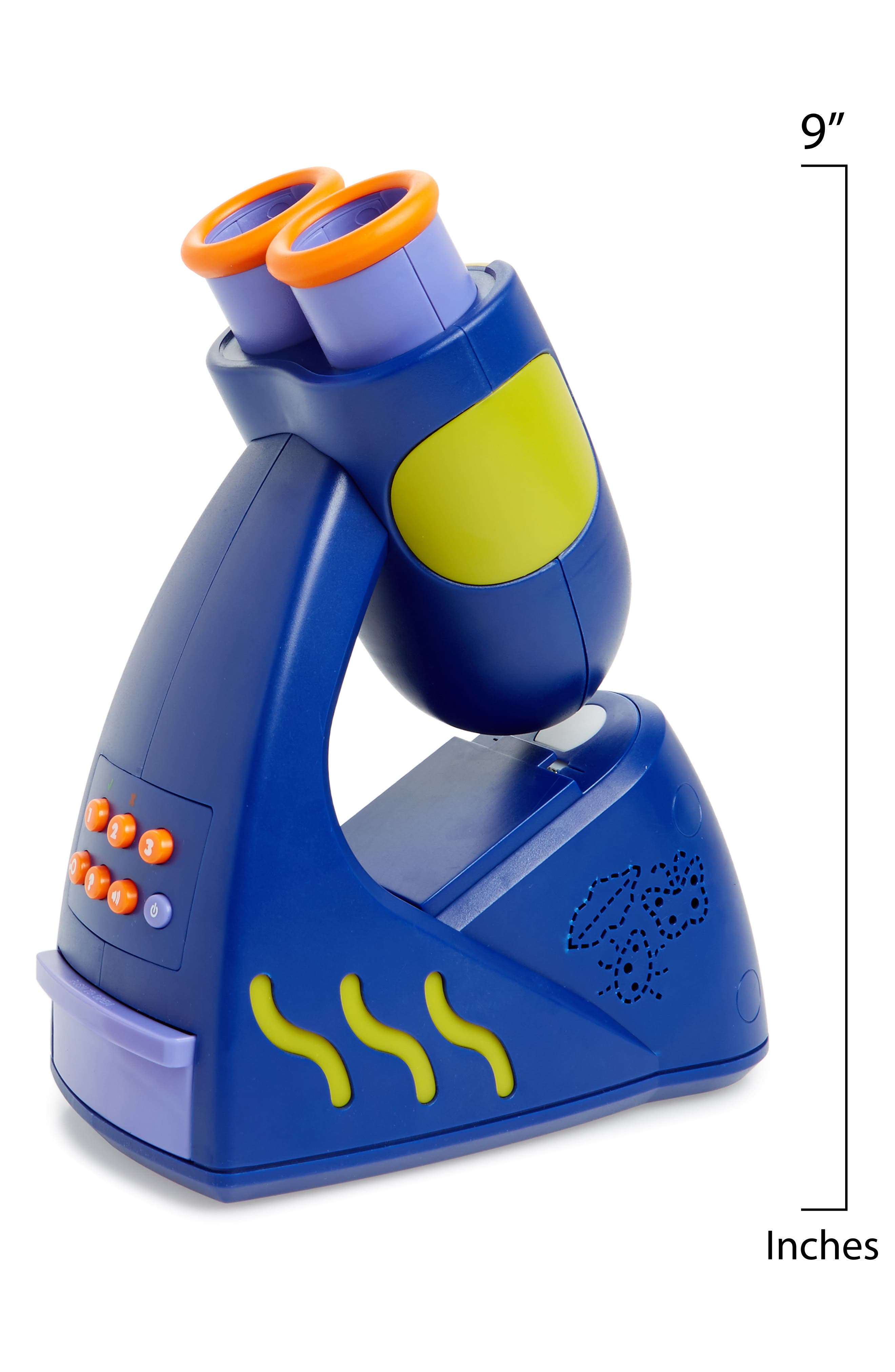 GeoSafari Jr. 21-Piece Talking Microscope Set,                             Alternate thumbnail 2, color,                             Blue