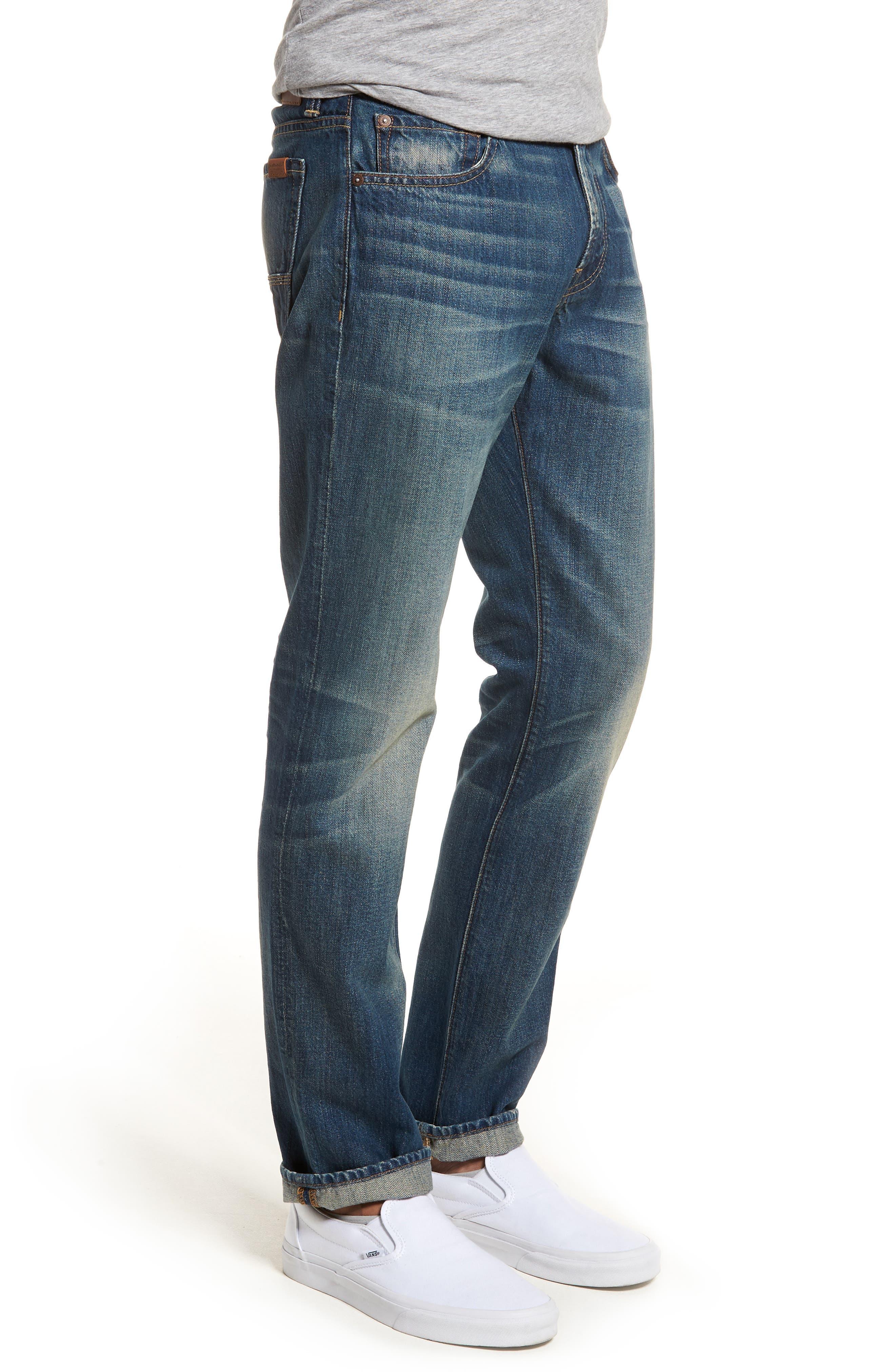 Adrien Slim Fit Jeans,                             Alternate thumbnail 3, color,                             Legend