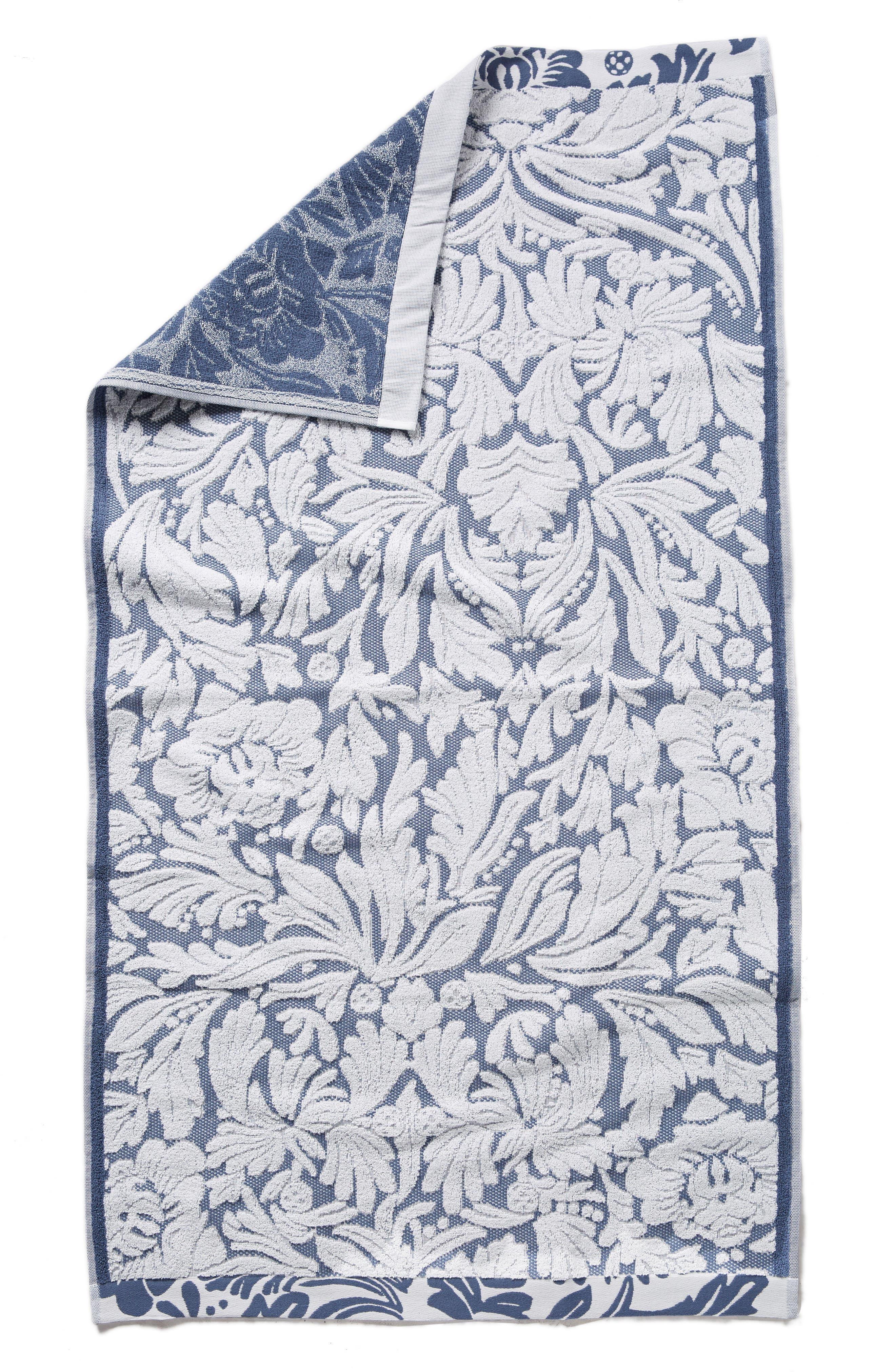 Mae Bath Towel,                             Alternate thumbnail 4, color,                             Slate