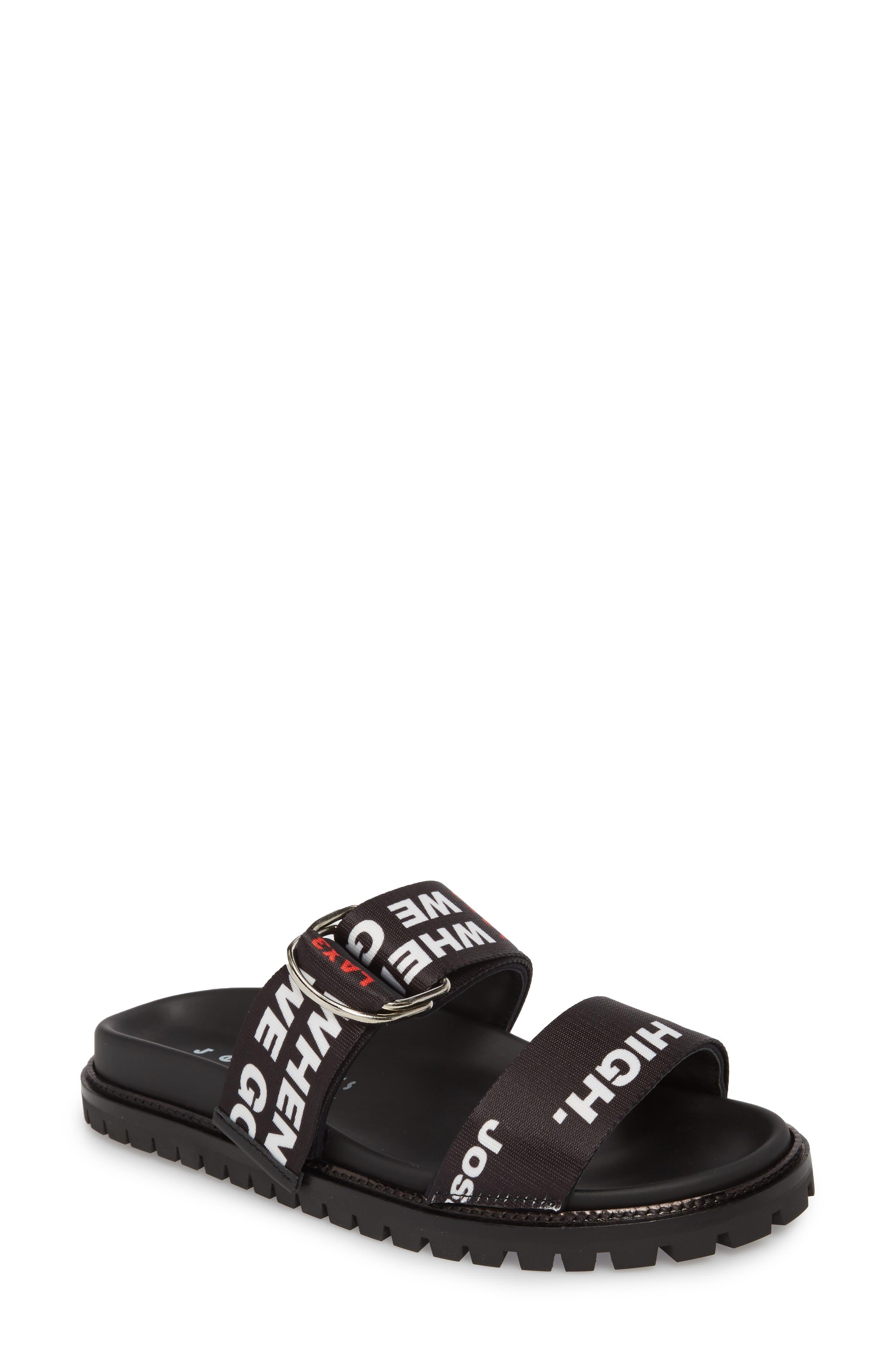 JOSHUA SANDERS Go High Slide Sandal (Women)