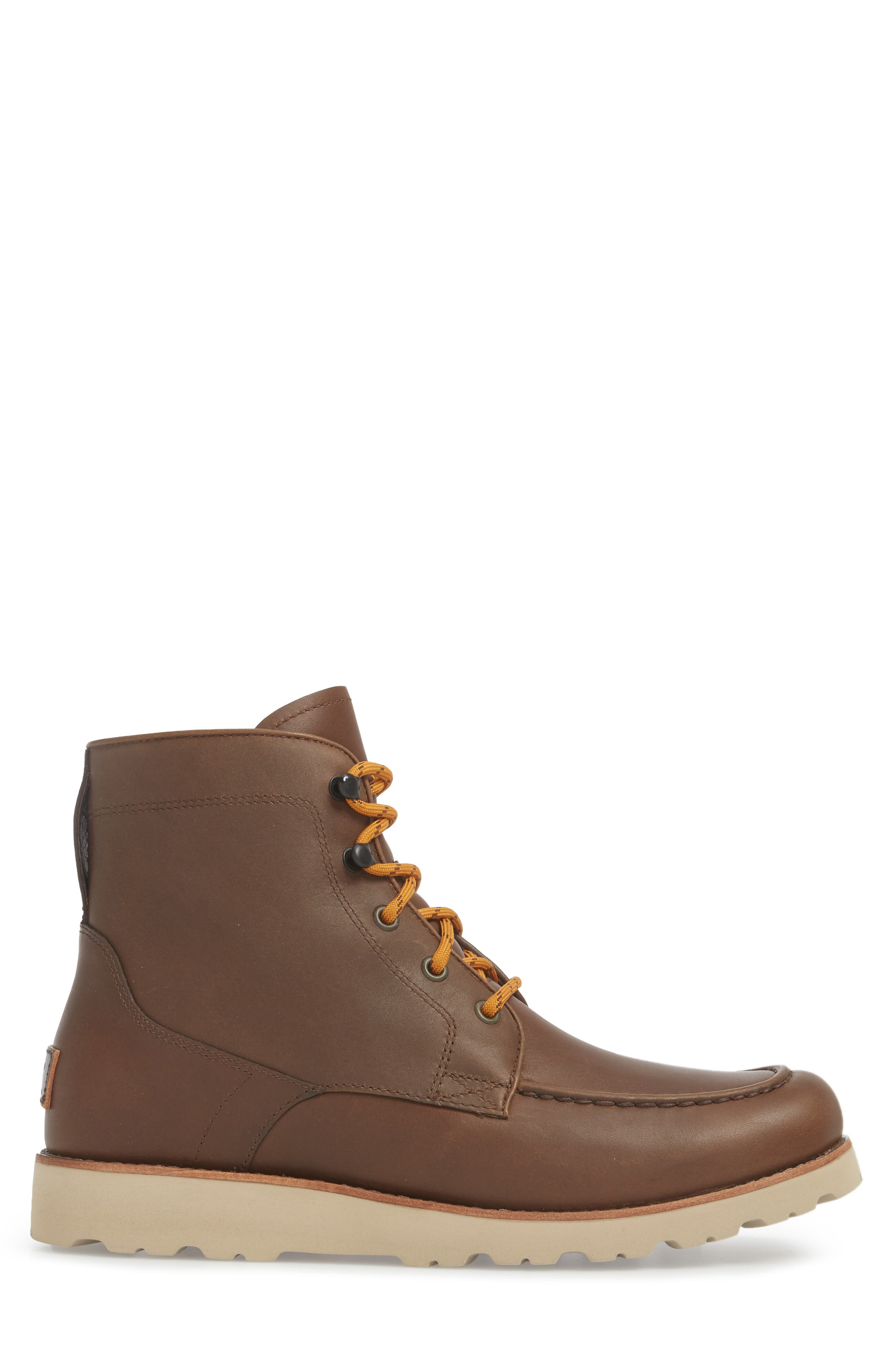 Agnar Moc Toe Boot,                             Alternate thumbnail 3, color,                             Grizzly