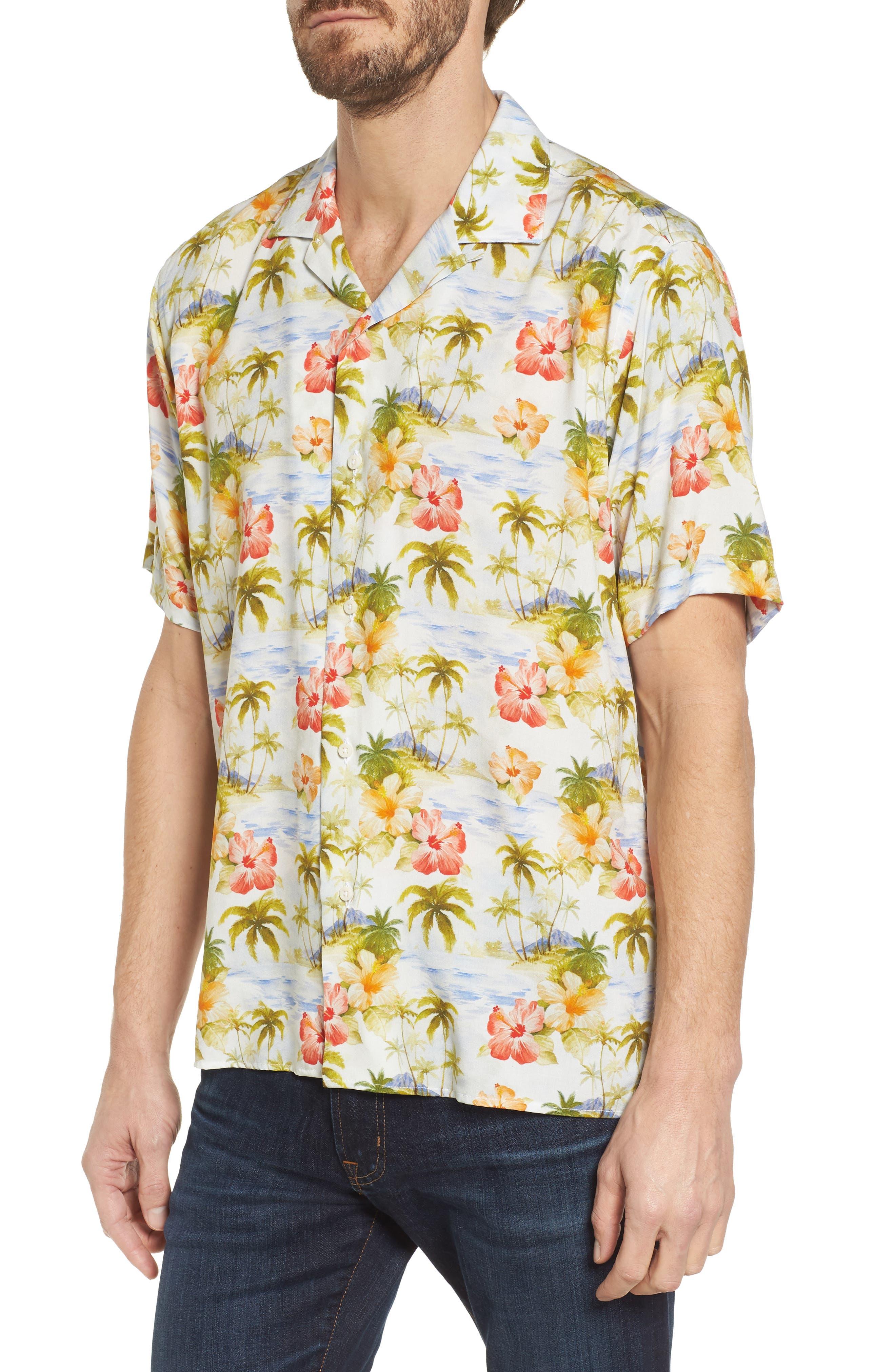 Camp Shirt,                             Main thumbnail 1, color,                             Multi
