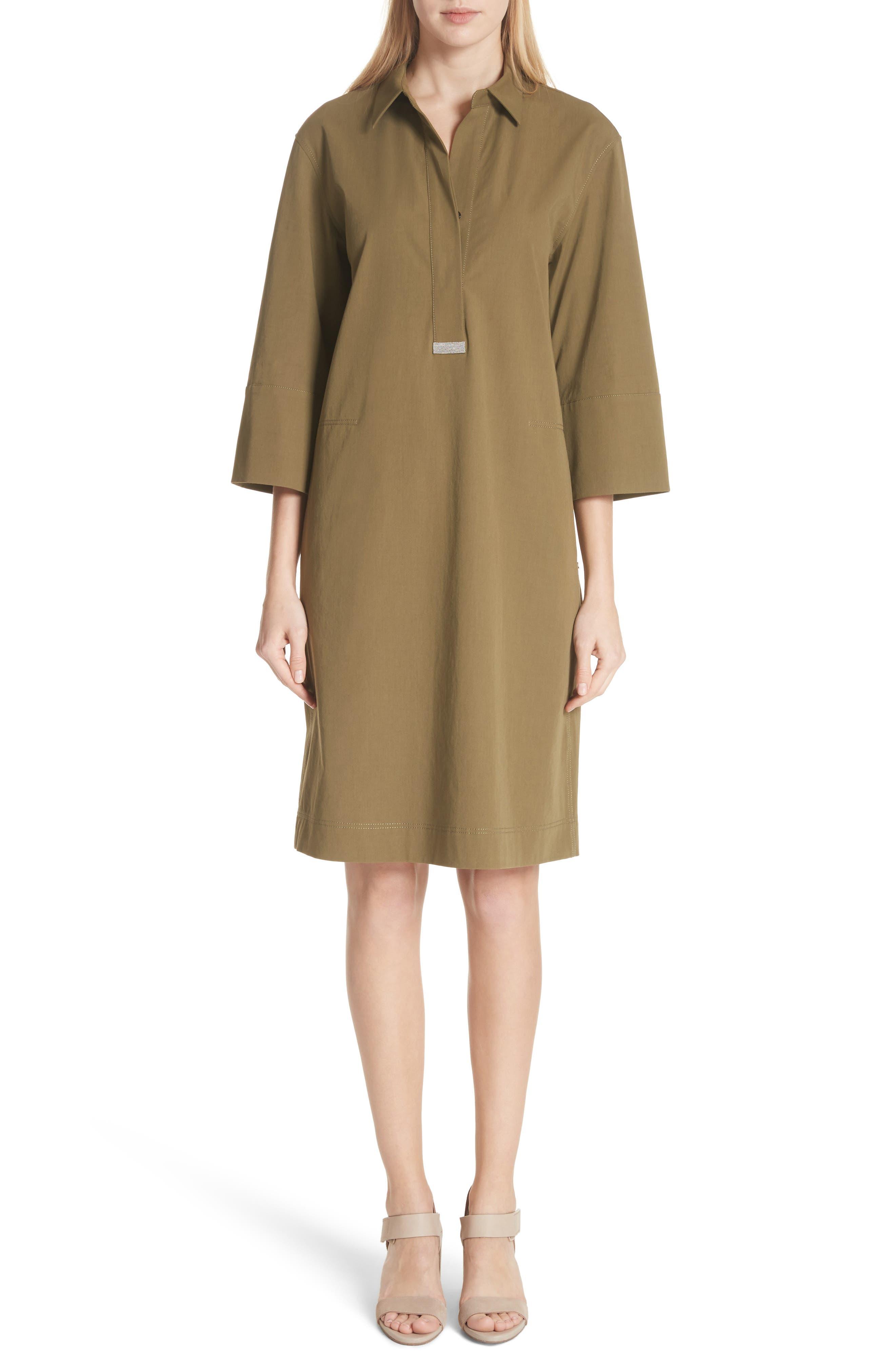 Cara Shift Dress,                         Main,                         color, Lily Pad