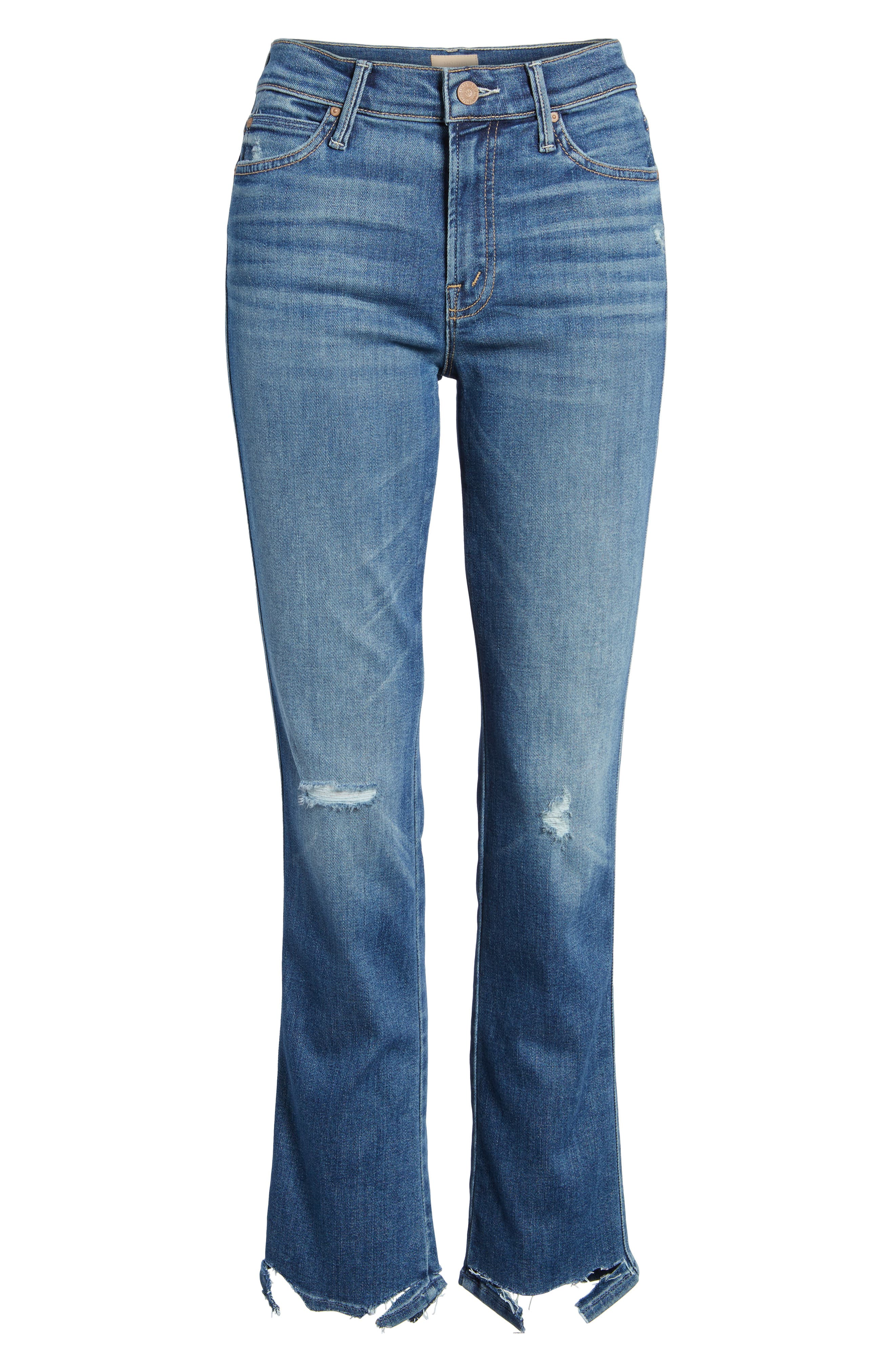 The Rascal Ankle Straight Leg Jeans,                             Alternate thumbnail 7, color,                             Wild