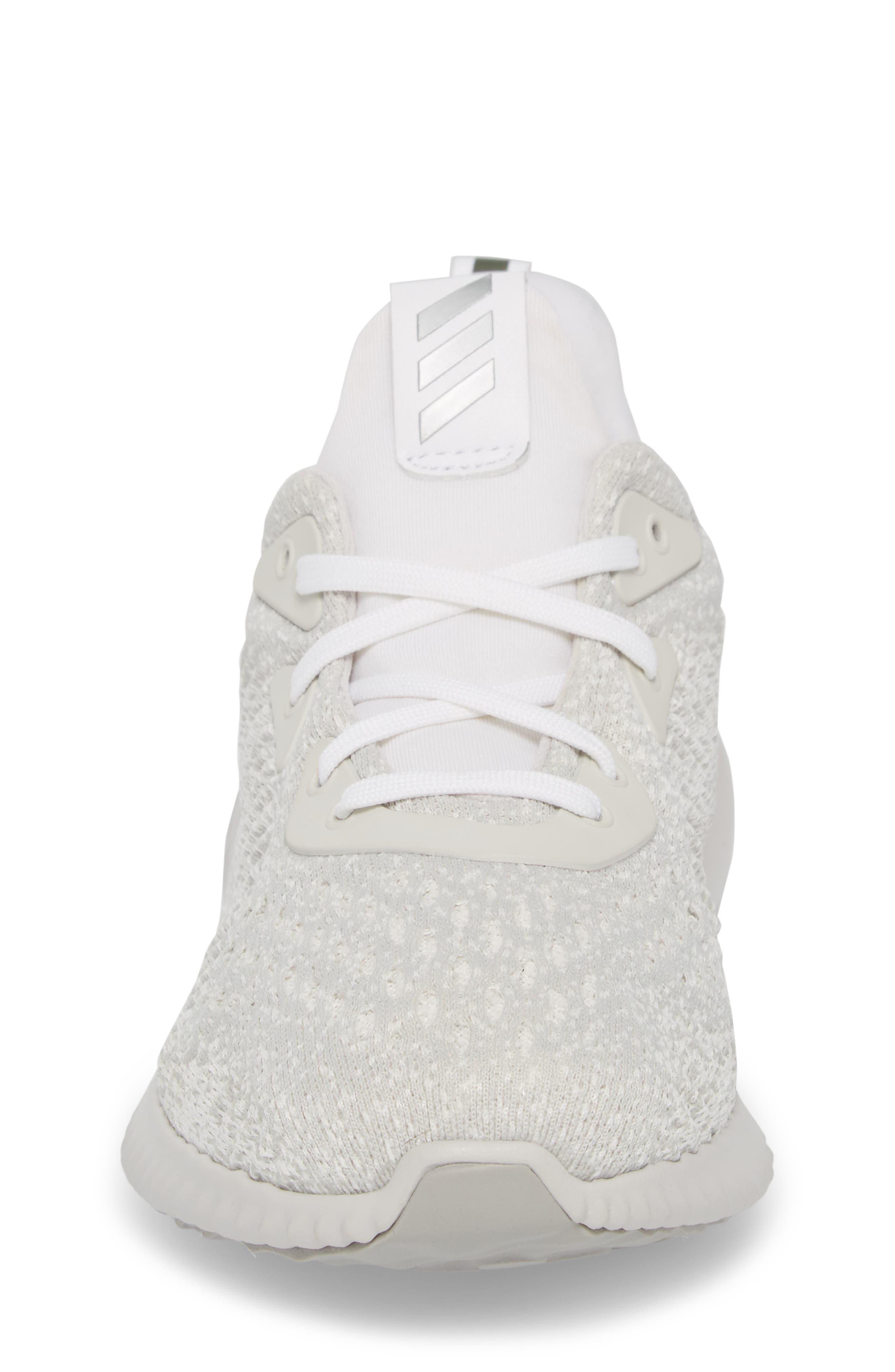 AlphaBounce EM Running Shoe,                             Alternate thumbnail 4, color,                             Grey / Silver Met / Non-Dyed