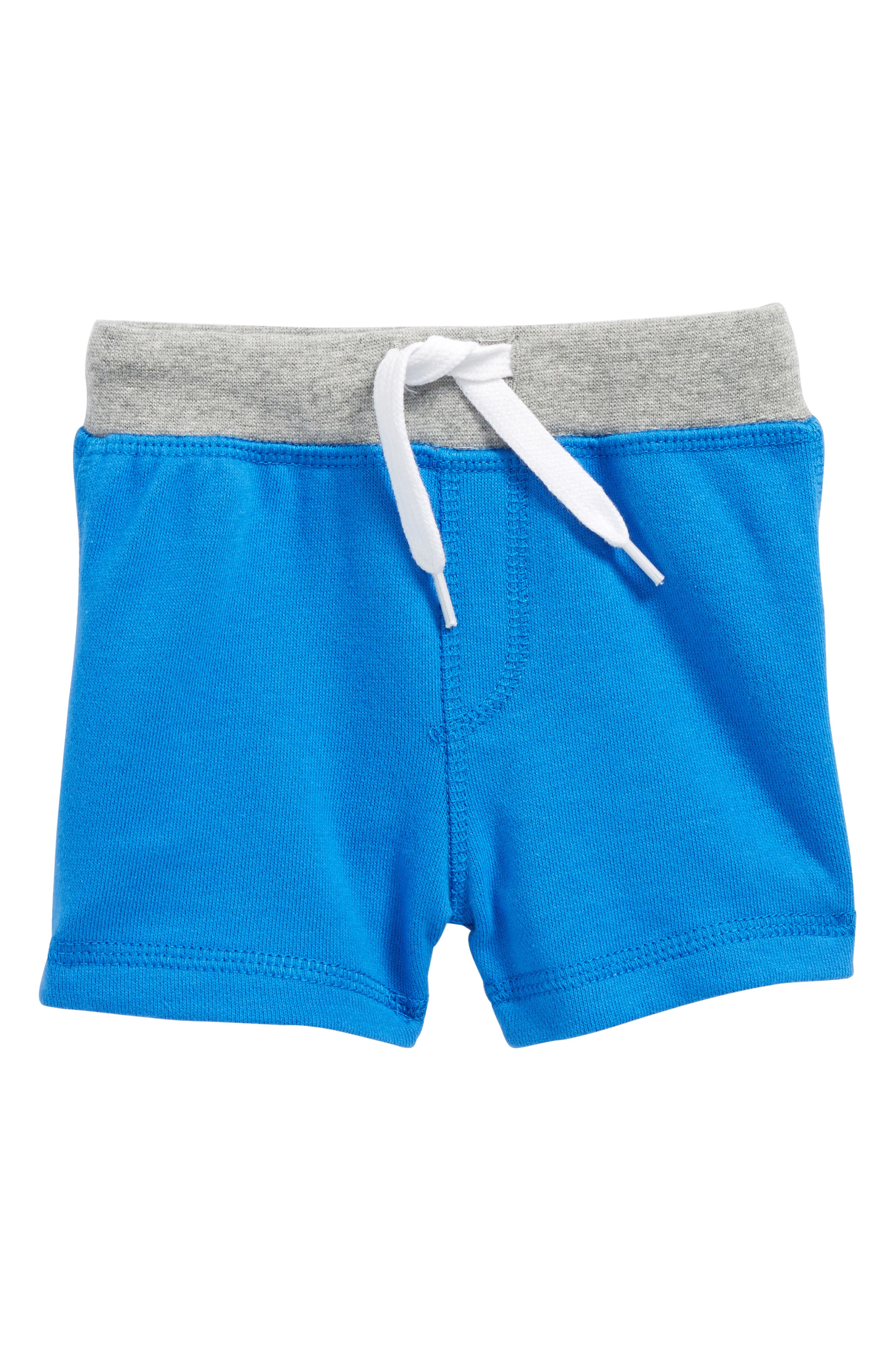 Pull On Shorts,                         Main,                         color, Blue Lolite