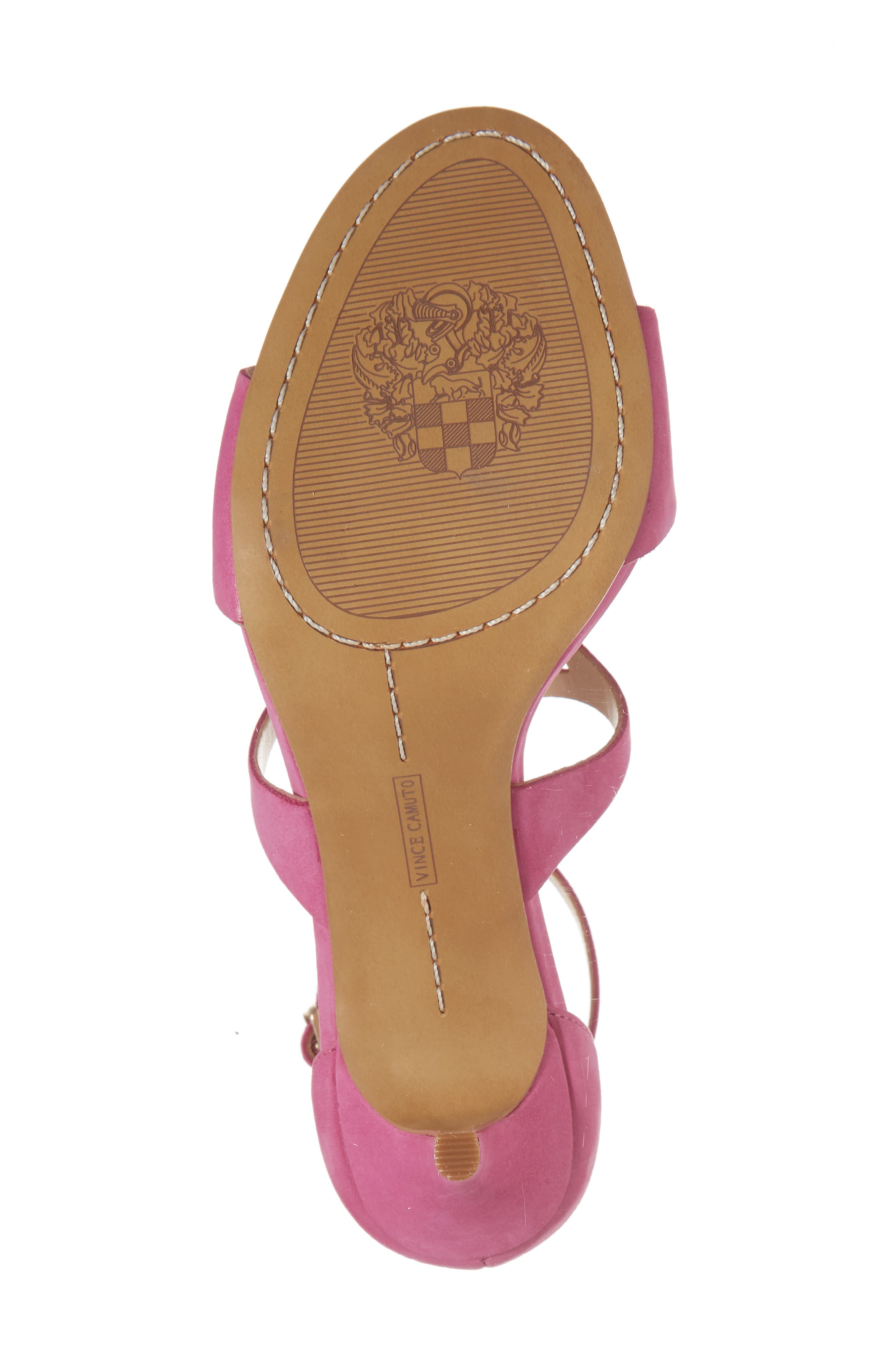 Payto Sandal,                             Alternate thumbnail 6, color,                             Pink Leather