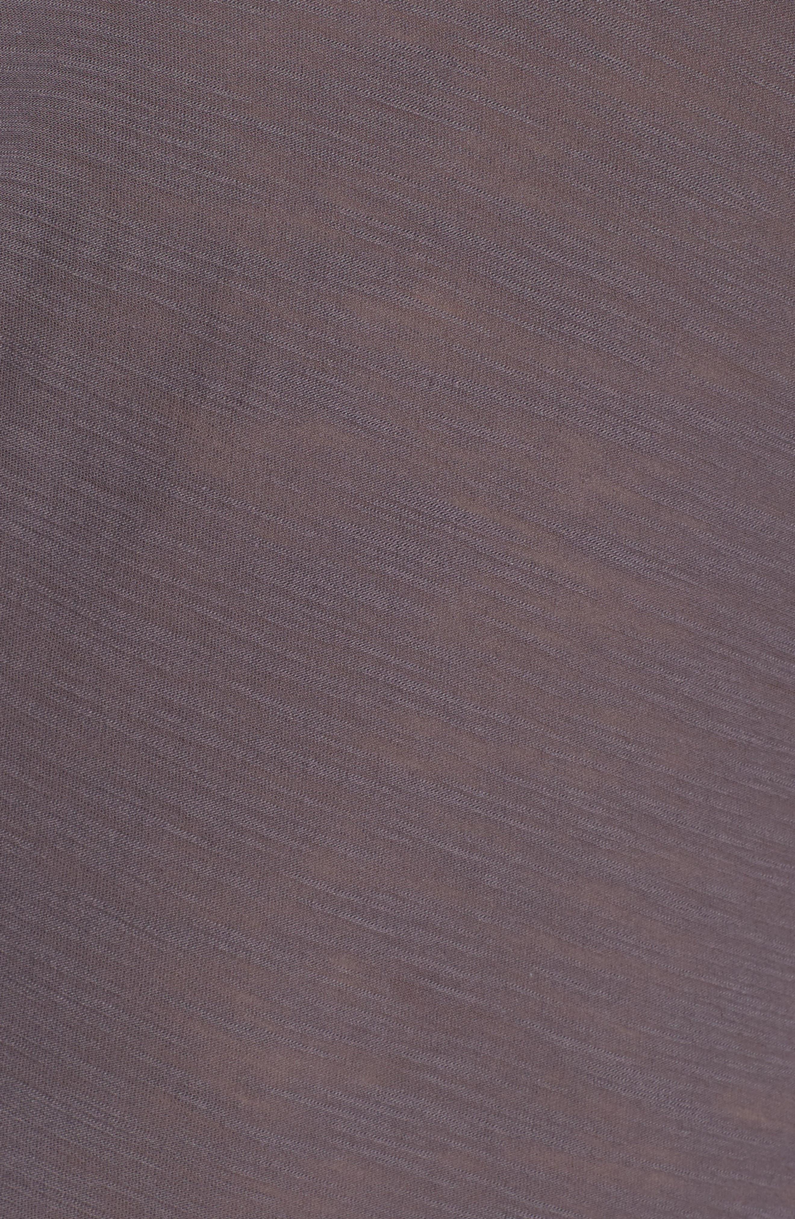 Slub Cotton V-Neck Tee,                             Alternate thumbnail 5, color,                             Pollock