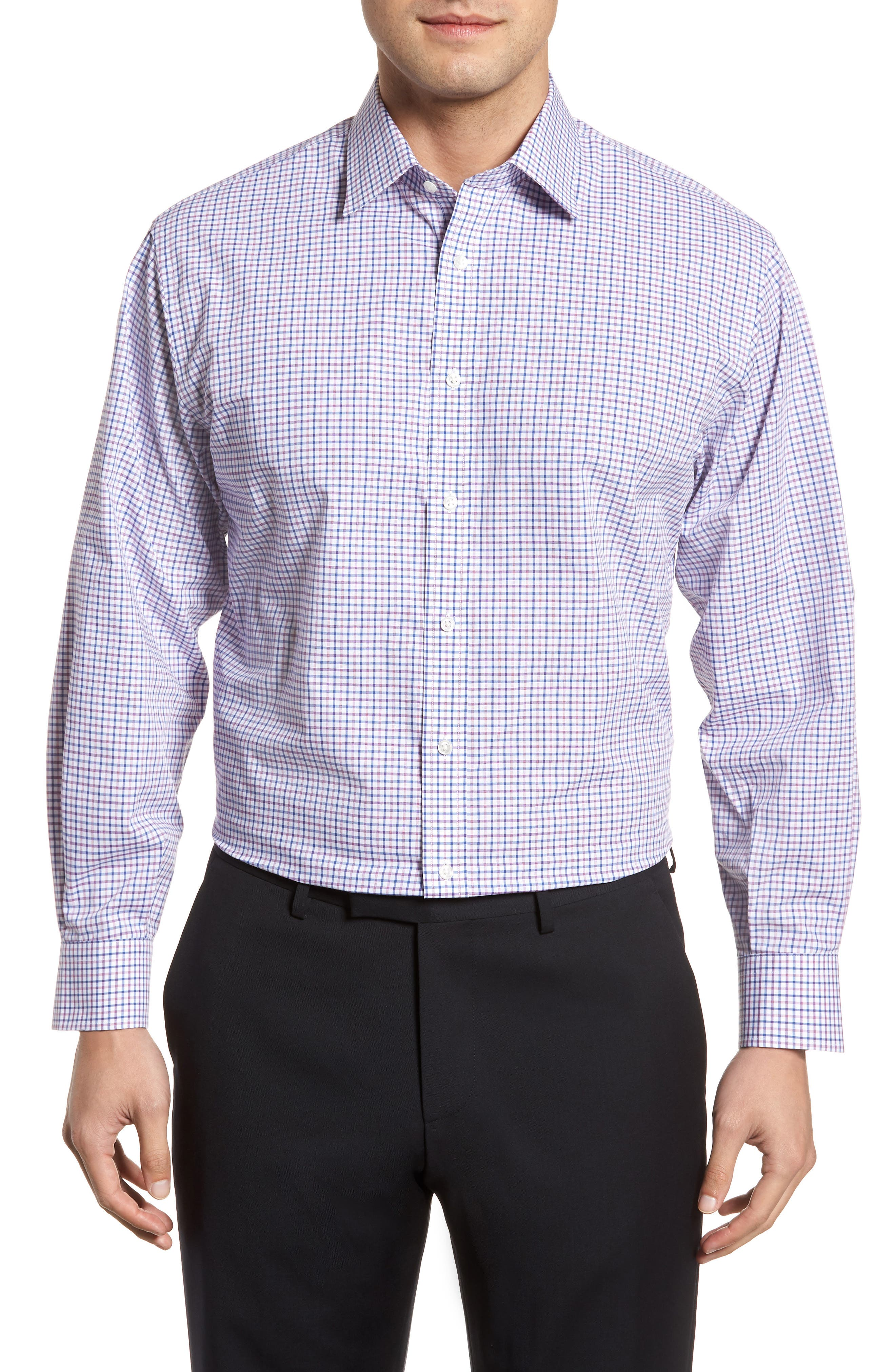 Main Image - Nordstrom Men's Shop Classic Fit Check Dress Shirt