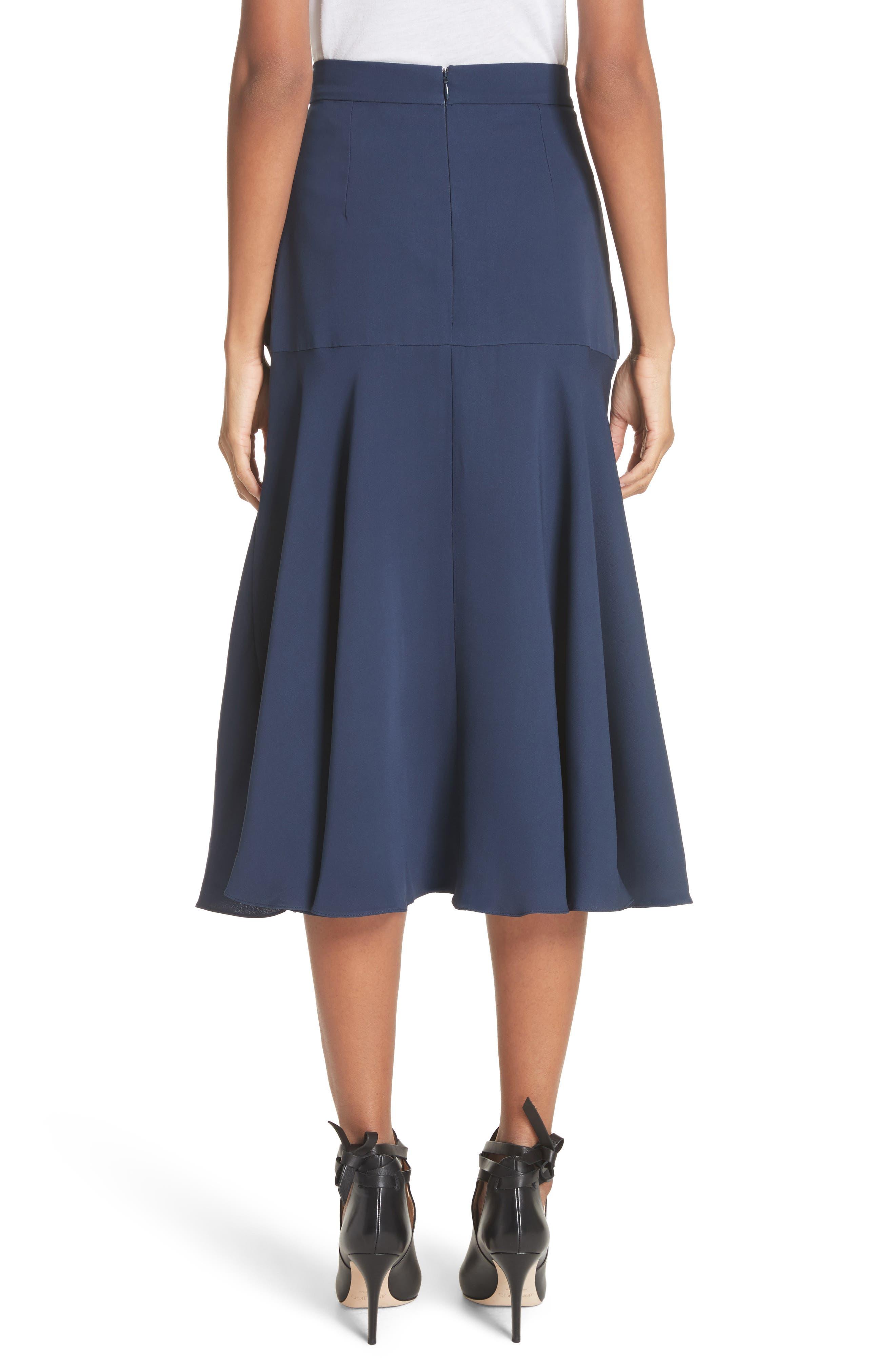 Alternate Image 2  - Roksanda Carson Silk Skirt