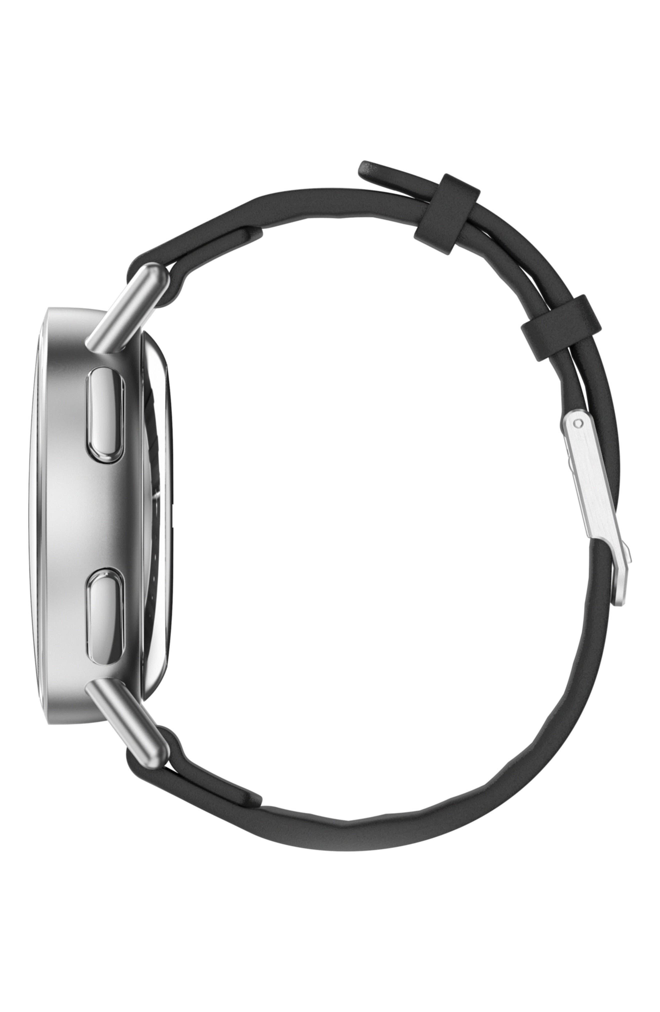 Path Strap Smartwatch, 36mm,                             Alternate thumbnail 3, color,                             Black