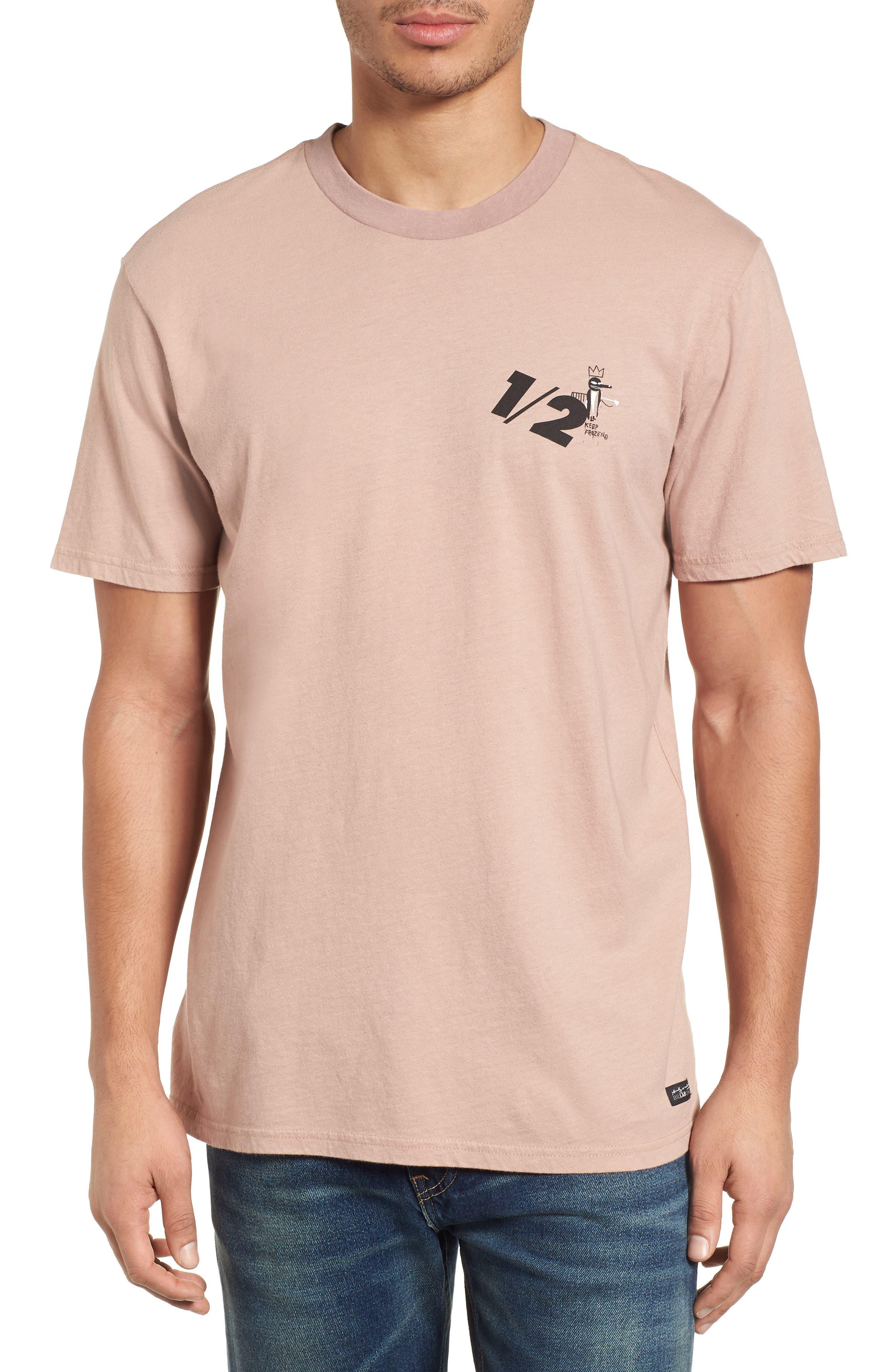 x Warhol Half T-Shirt,                         Main,                         color, Ash Rose