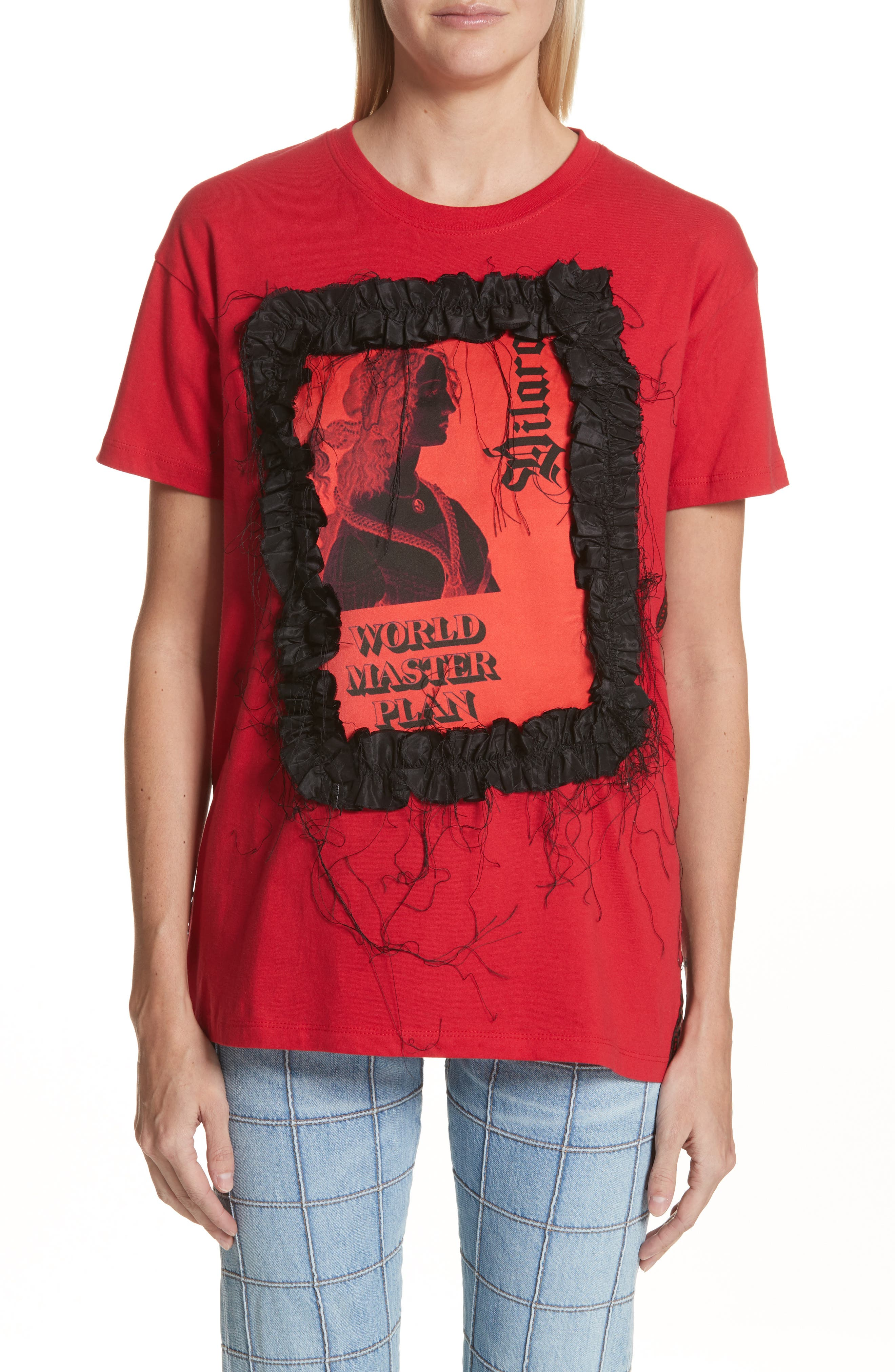 Master Plan Tee,                         Main,                         color, Red