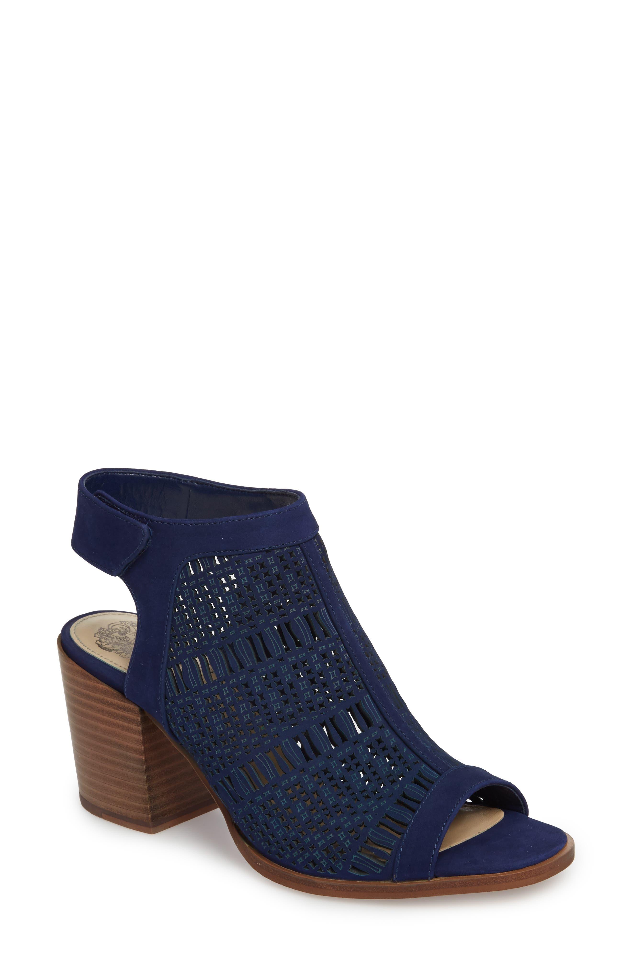 263de5a9739 Blue Block-Heel Sandals for Women