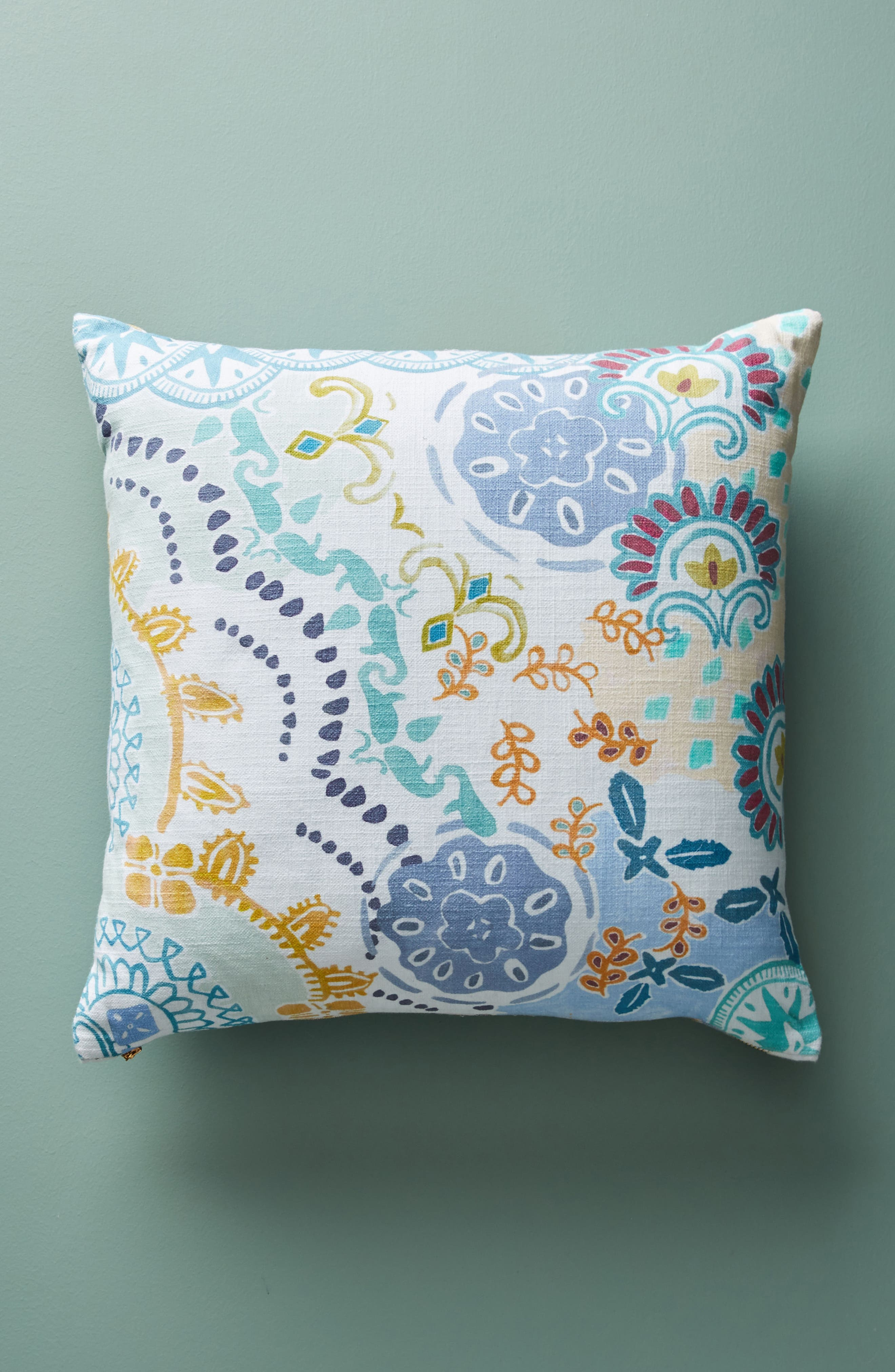Clarence Accent Pillow,                             Alternate thumbnail 2, color,                             Blue Combo
