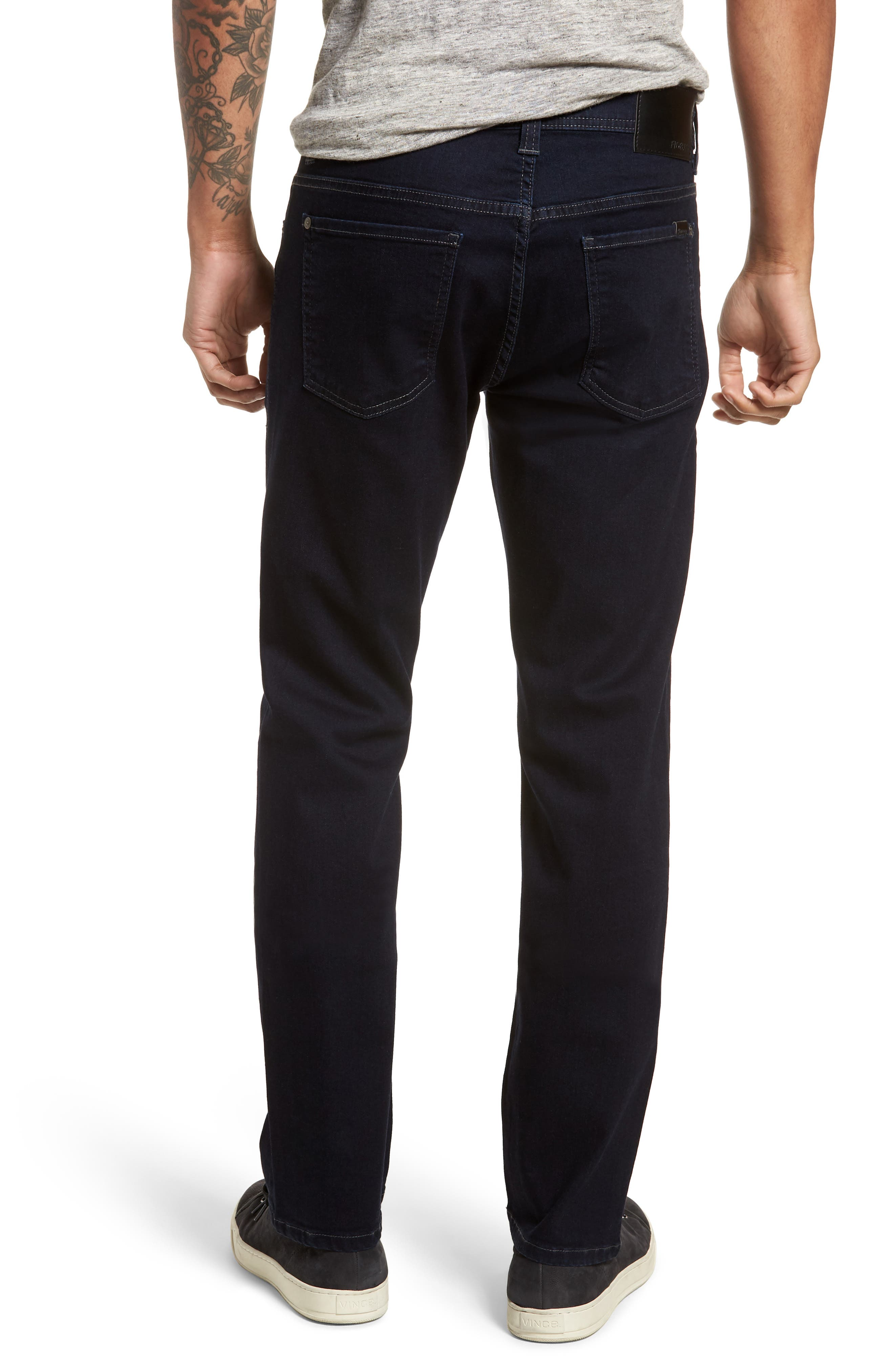 Jimmy Slim Straight Fit Jeans,                             Alternate thumbnail 2, color,                             Brooklyn Blue