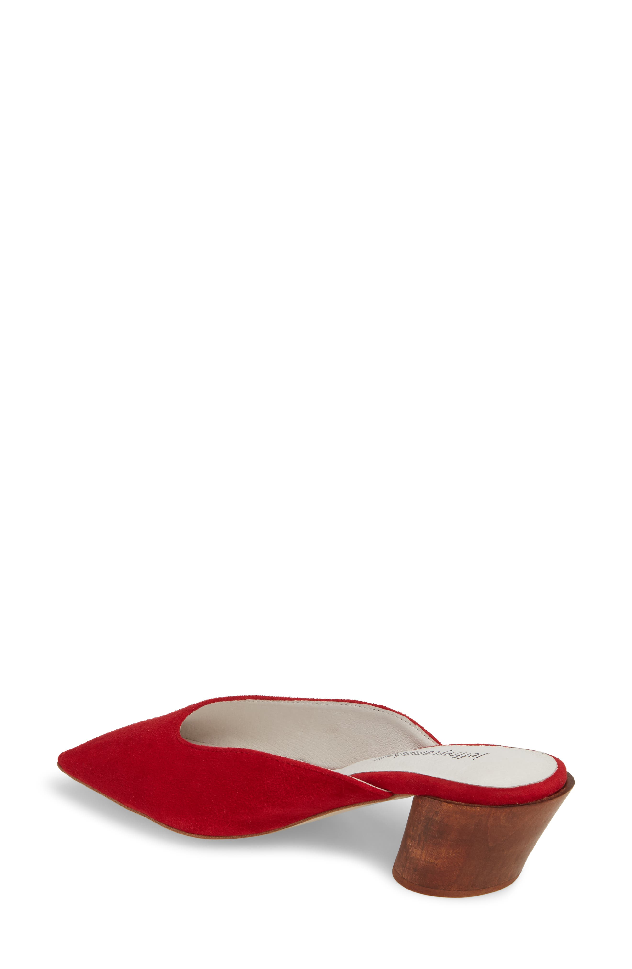 Lakme Mule,                             Alternate thumbnail 2, color,                             Red Suede