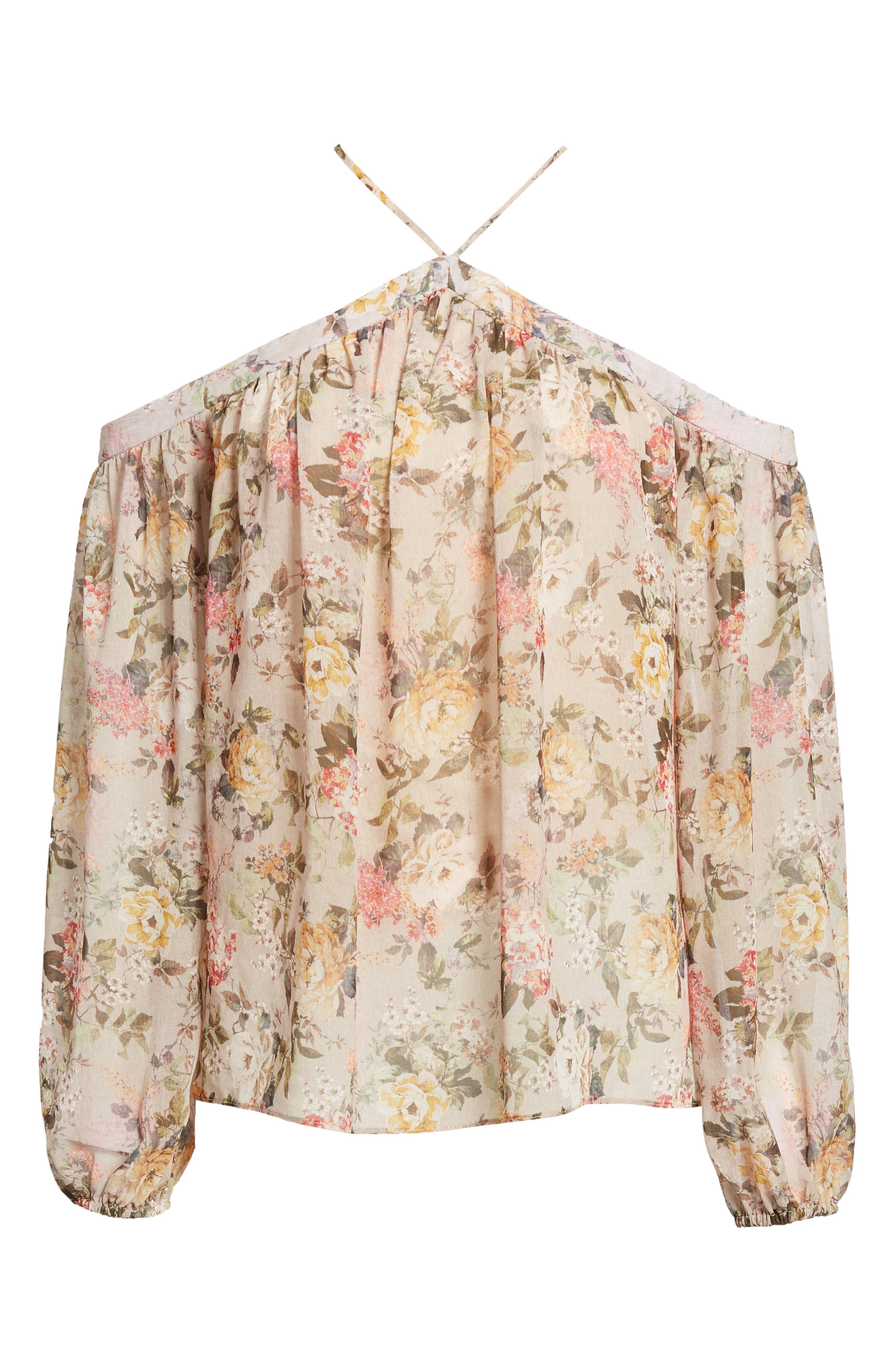 Inamorata Blouse,                             Alternate thumbnail 6, color,                             Blush