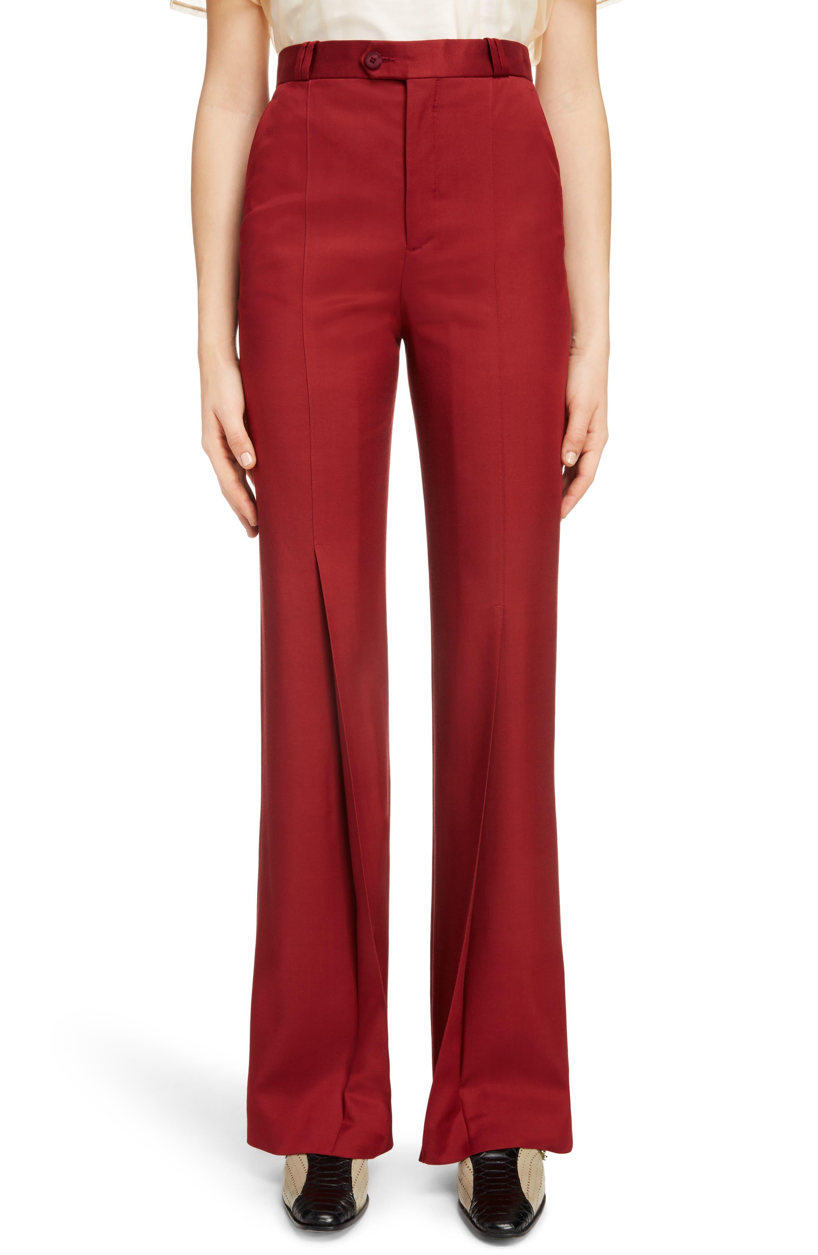 Tohny Suit Pants,                         Main,                         color, Crimson Red