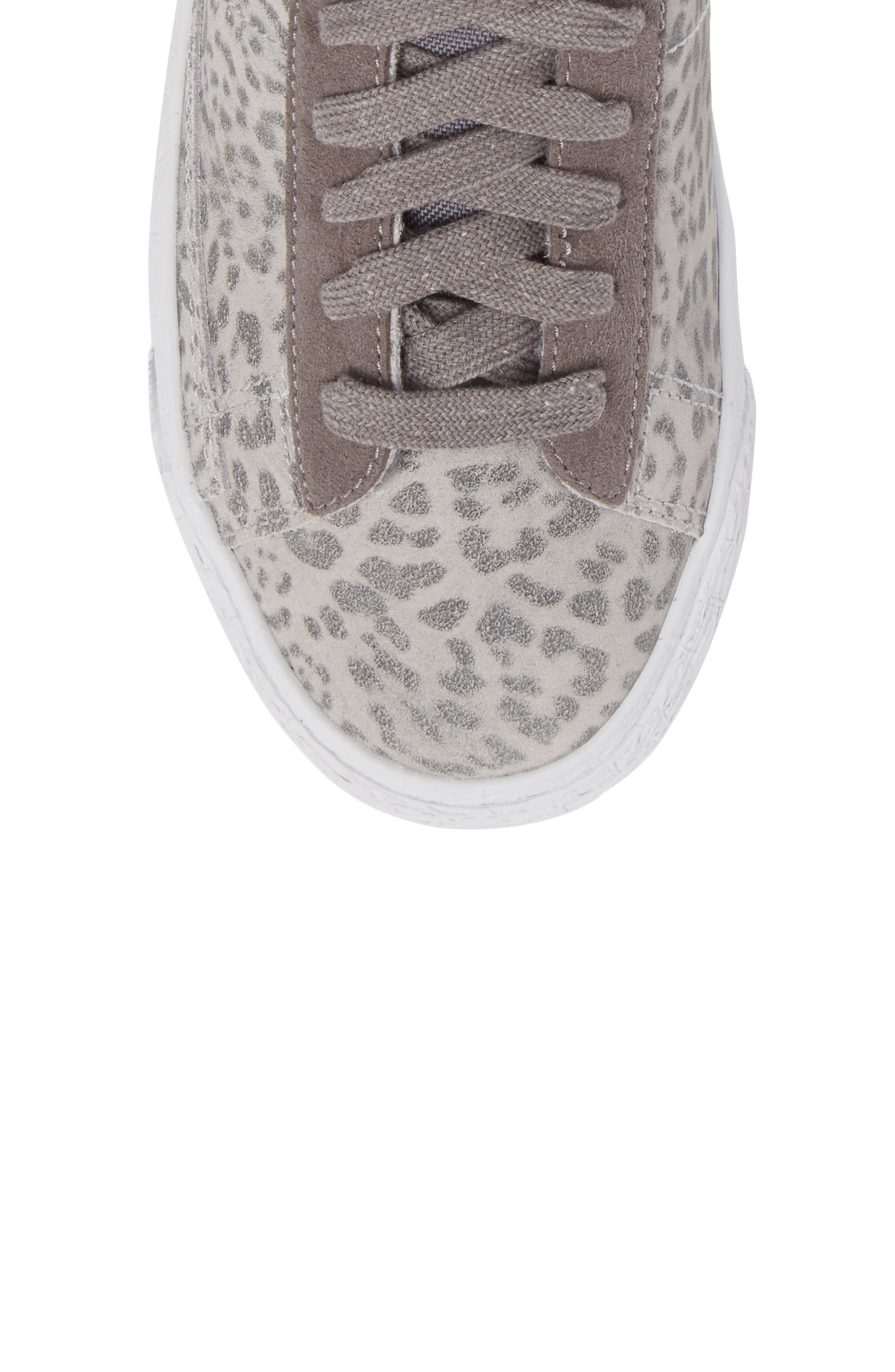 Blazer Mid SE High Top Sneaker,                             Alternate thumbnail 4, color,                             Atmosphere Grey/ Smoke/ Gum