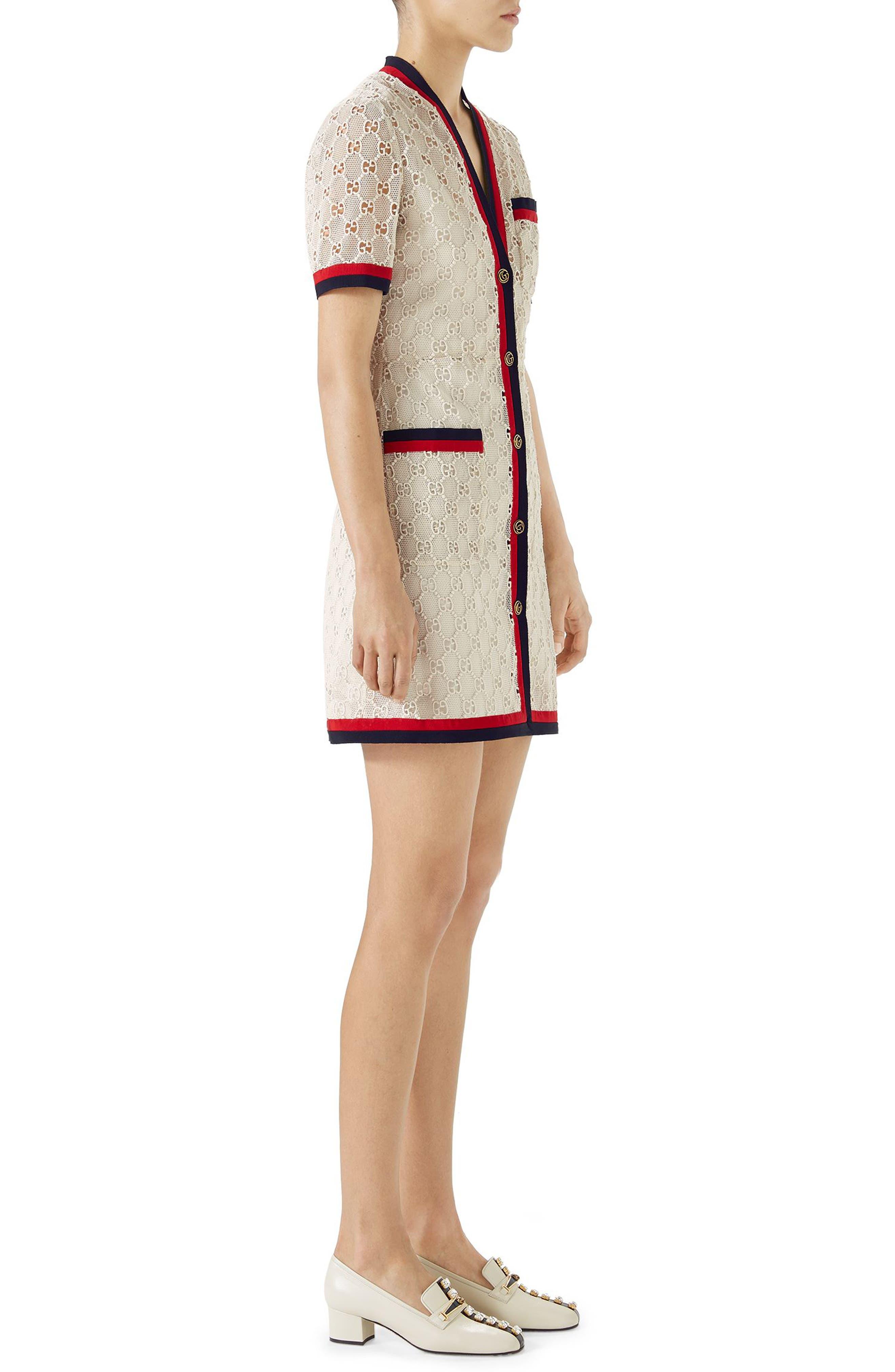 Alternate Image 3  - Gucci GG Macramé Dress