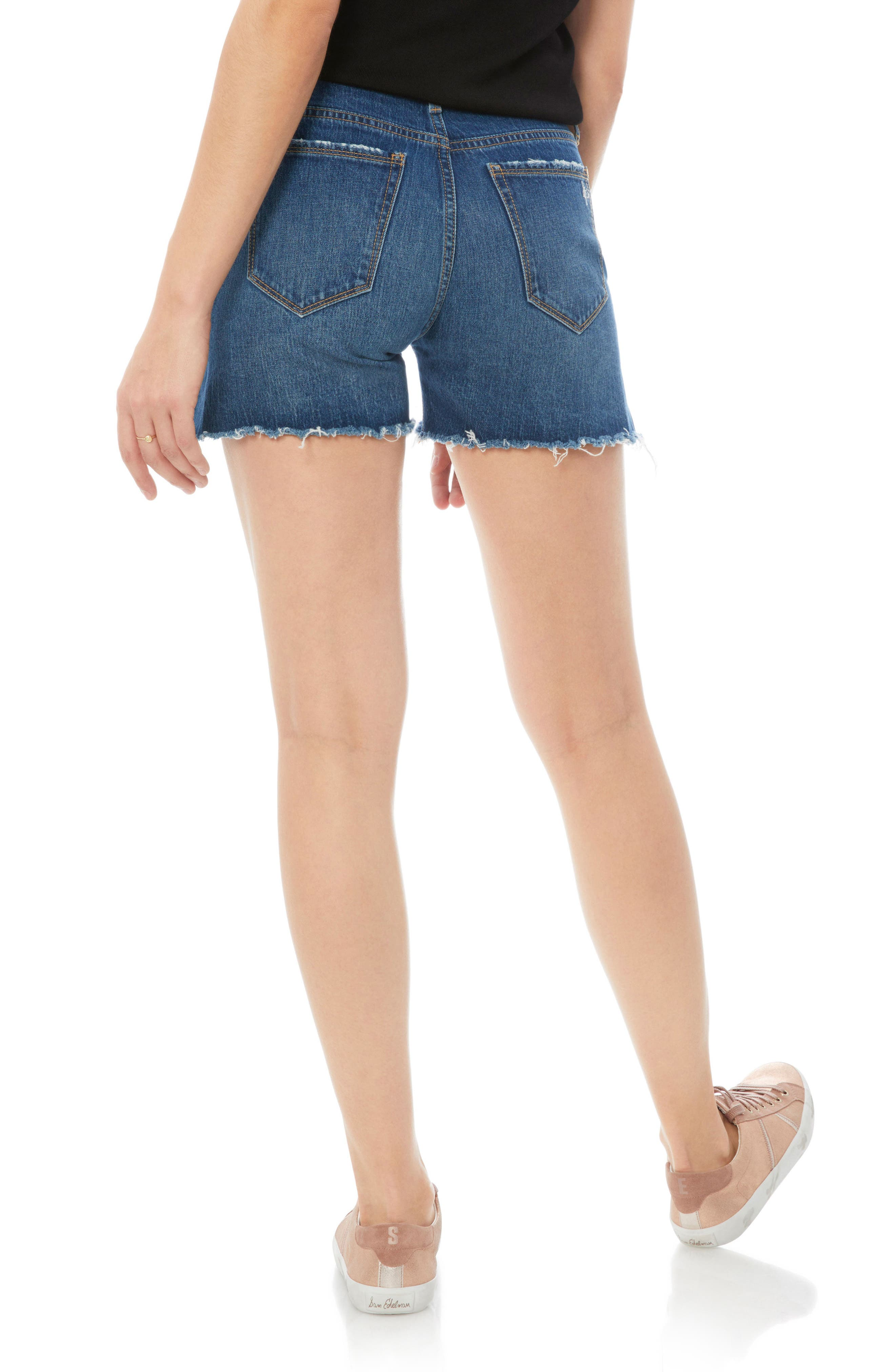 The Bootie Jean Shorts,                             Alternate thumbnail 2, color,                             Karlie