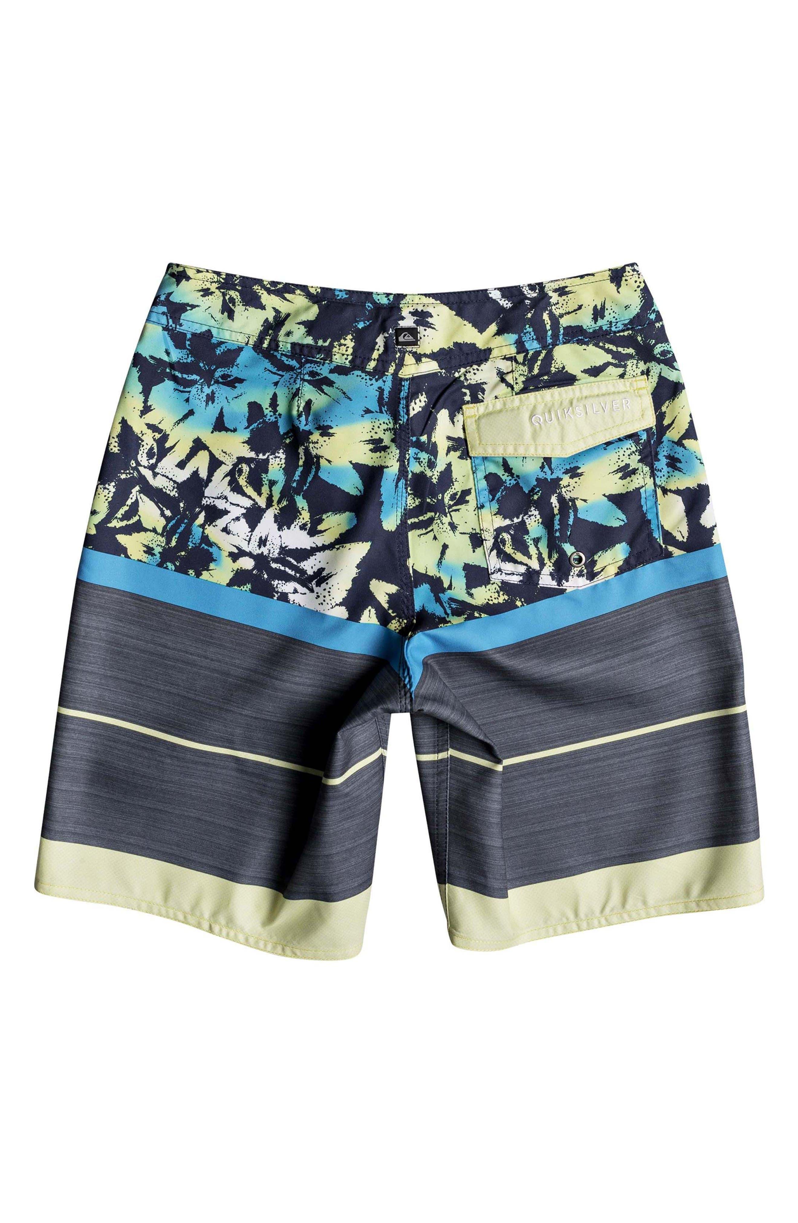 Slab Island Board Shorts,                             Alternate thumbnail 2, color,                             Cyan Blue