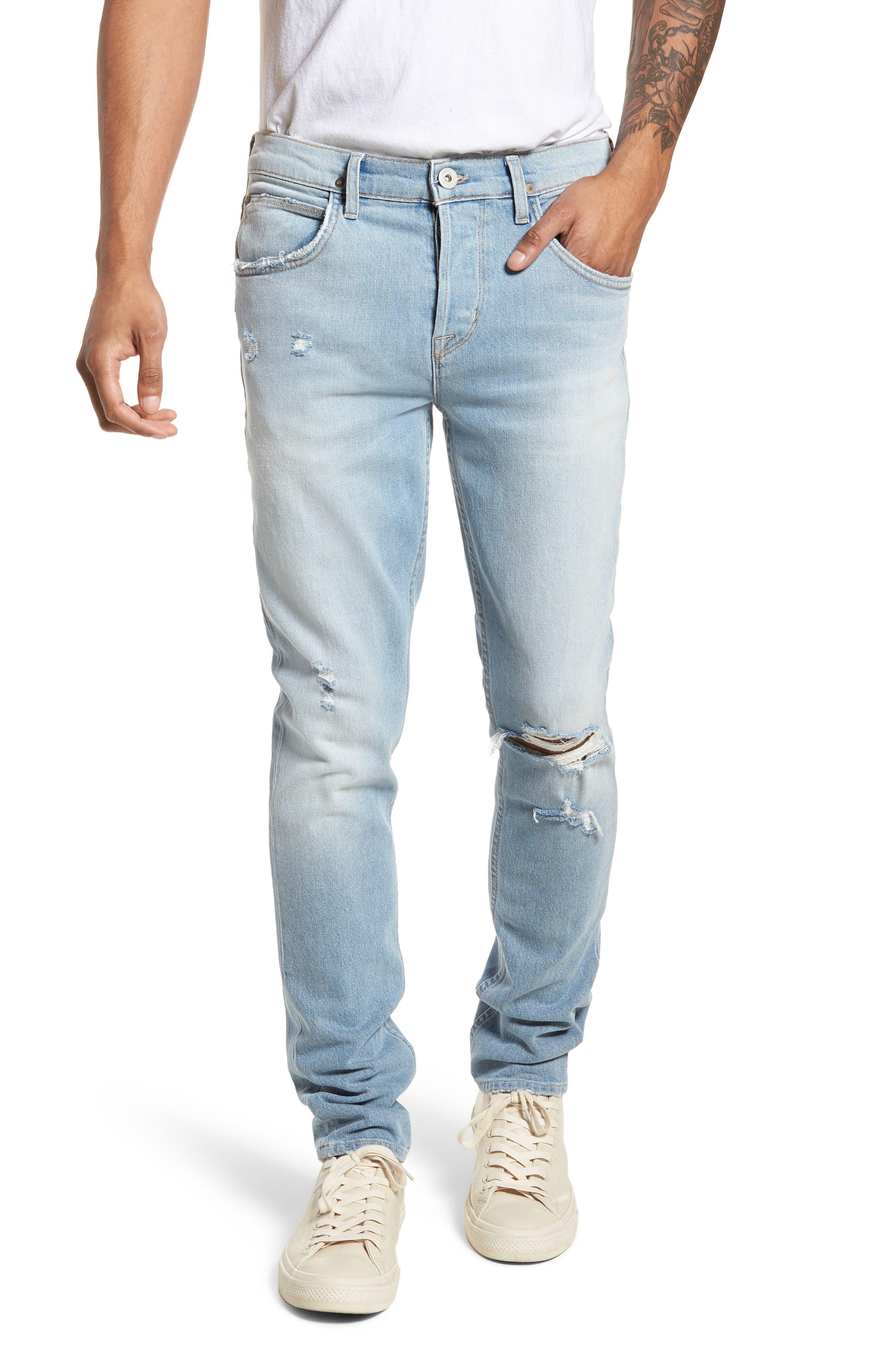 Axl Skinny Fit Jeans,                         Main,                         color, Blaze