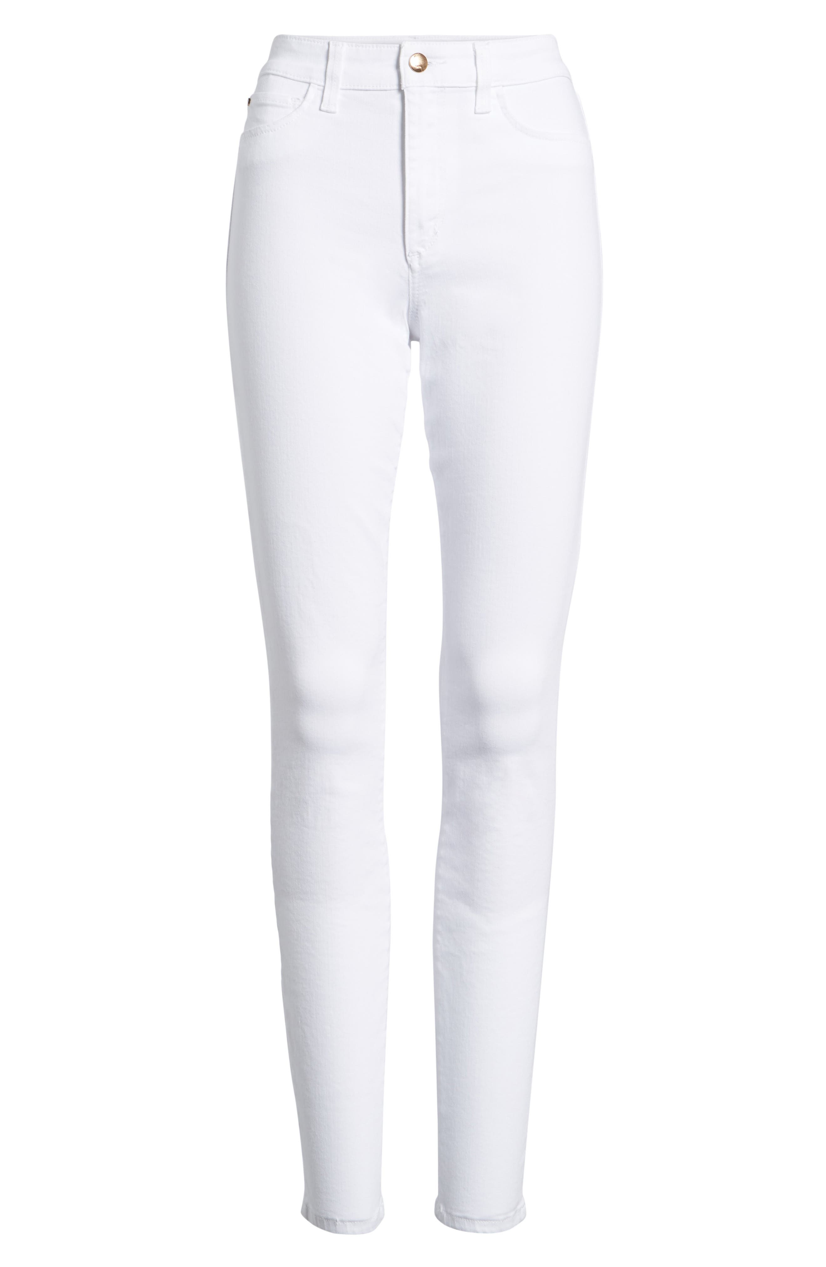 Charlie Skinny Jeans,                             Alternate thumbnail 6, color,                             Hennie