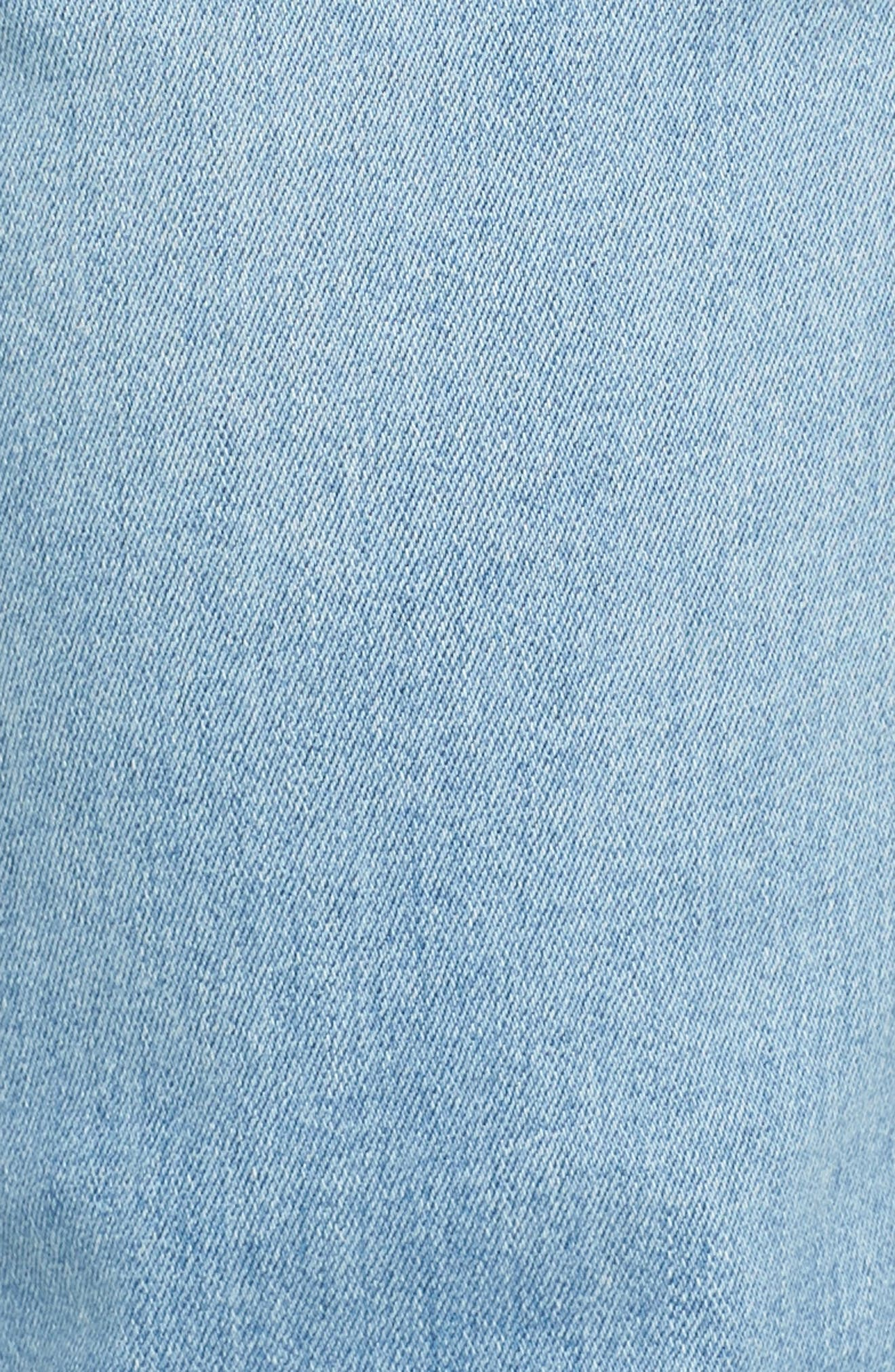 Iggy Skinny Fit Jeans,                             Alternate thumbnail 5, color,                             Surf Bleach