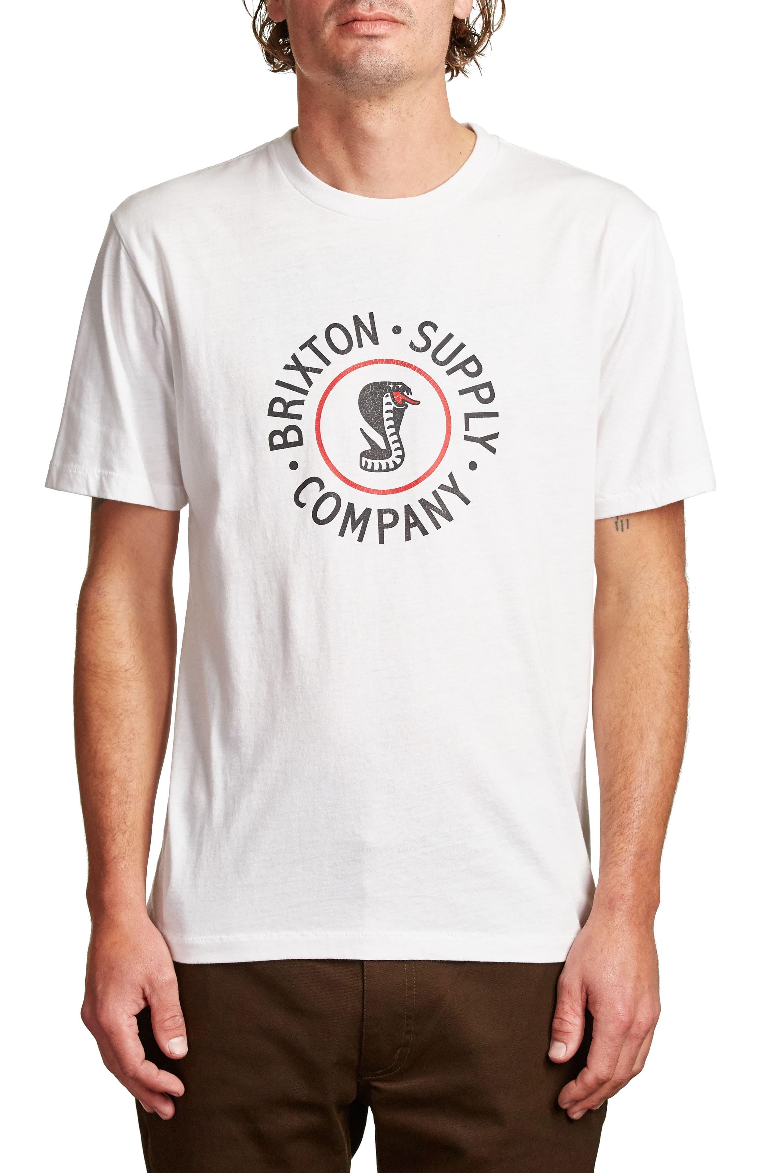 Battalion Graphic T-Shirt,                         Main,                         color, White