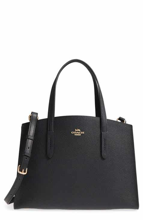 7eb1ec9353 COACH Charlie Leather Tote