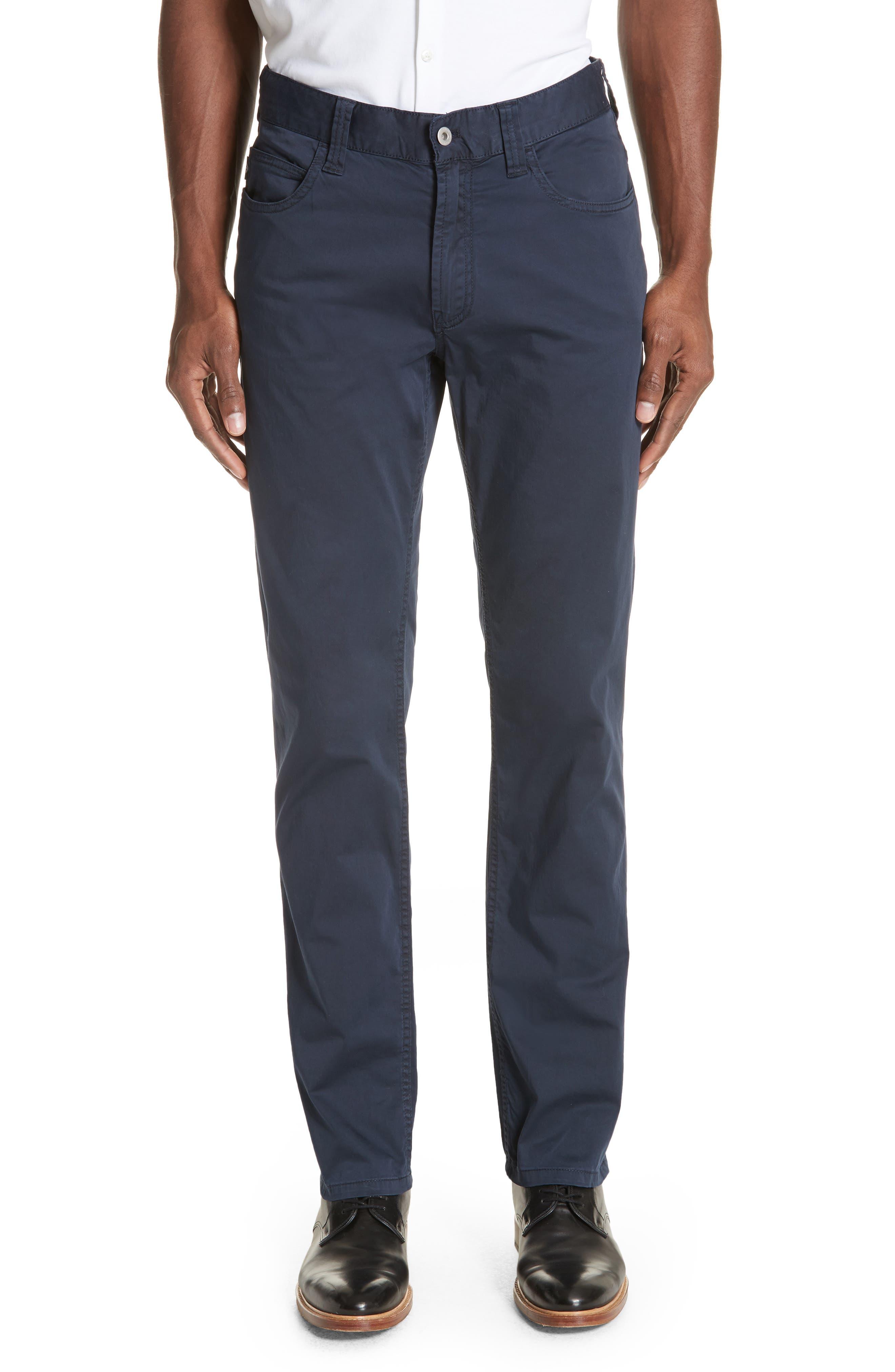 Emporio Armani Stretch Cotton Pants