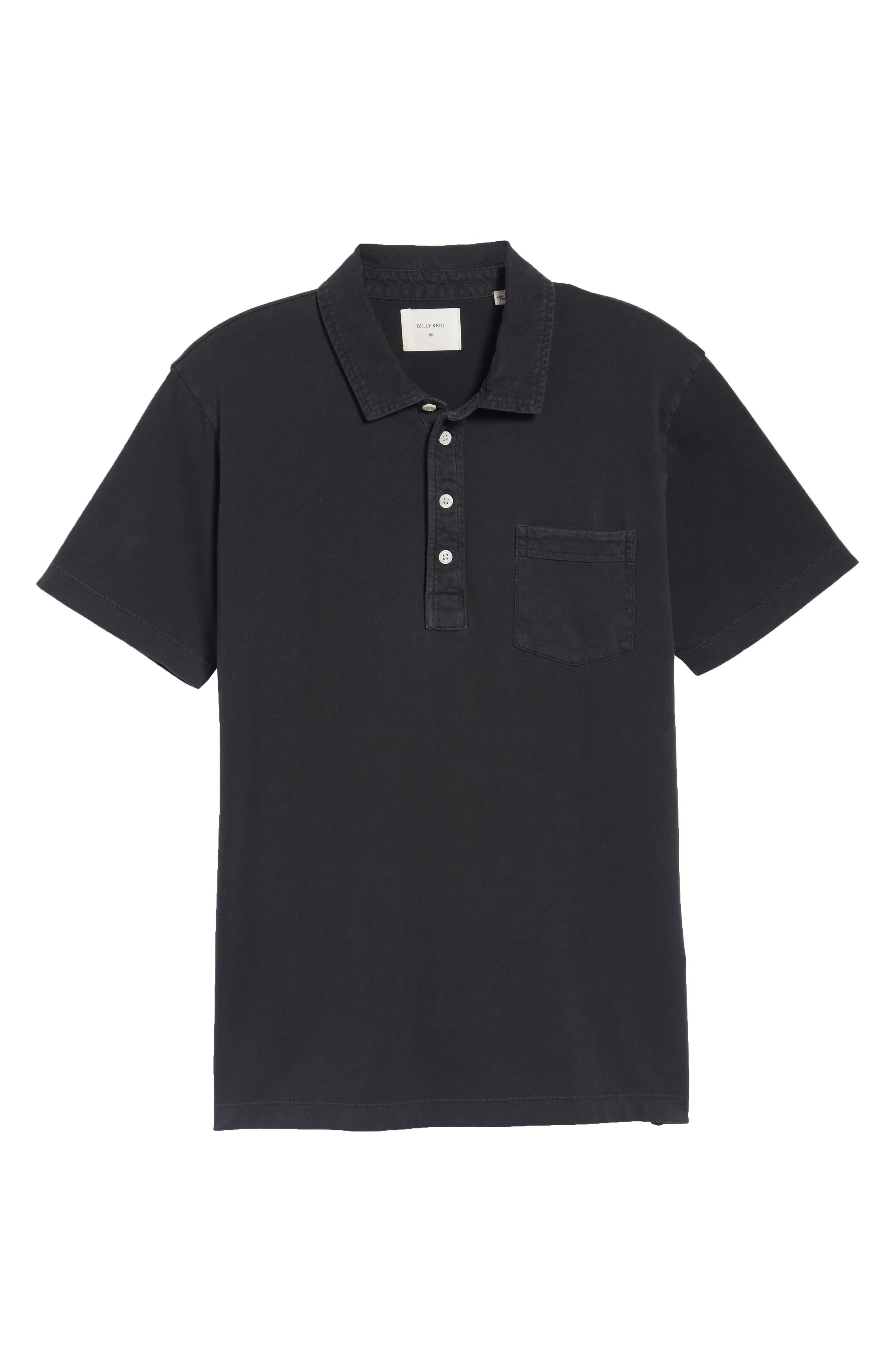 Pensacola GD Slim Fit Polo,                             Alternate thumbnail 6, color,                             Black