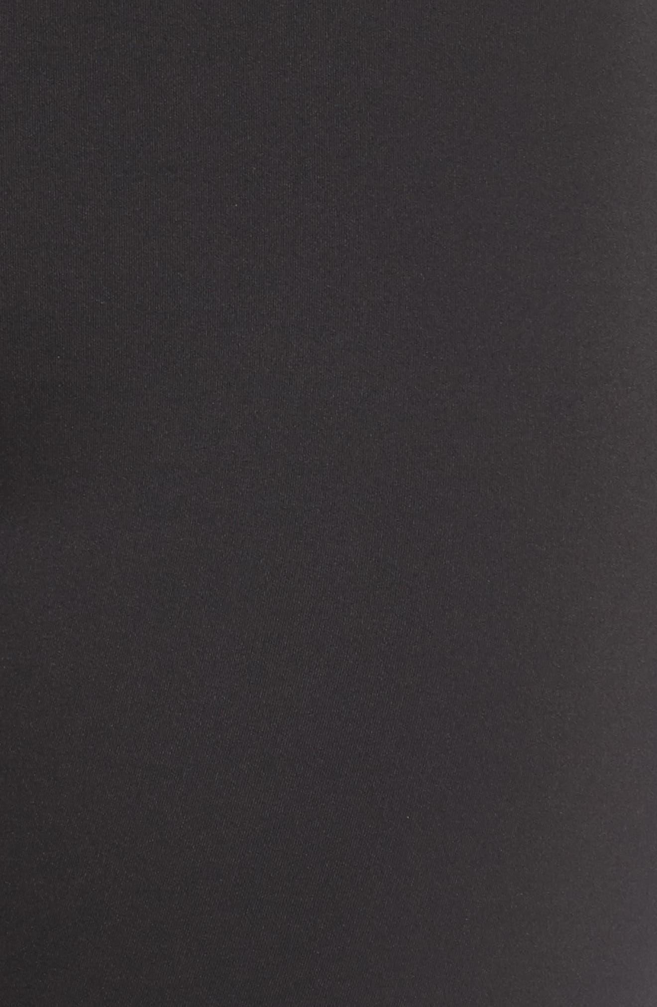 Gaines High Waist Leggings,                             Alternate thumbnail 6, color,                             Black