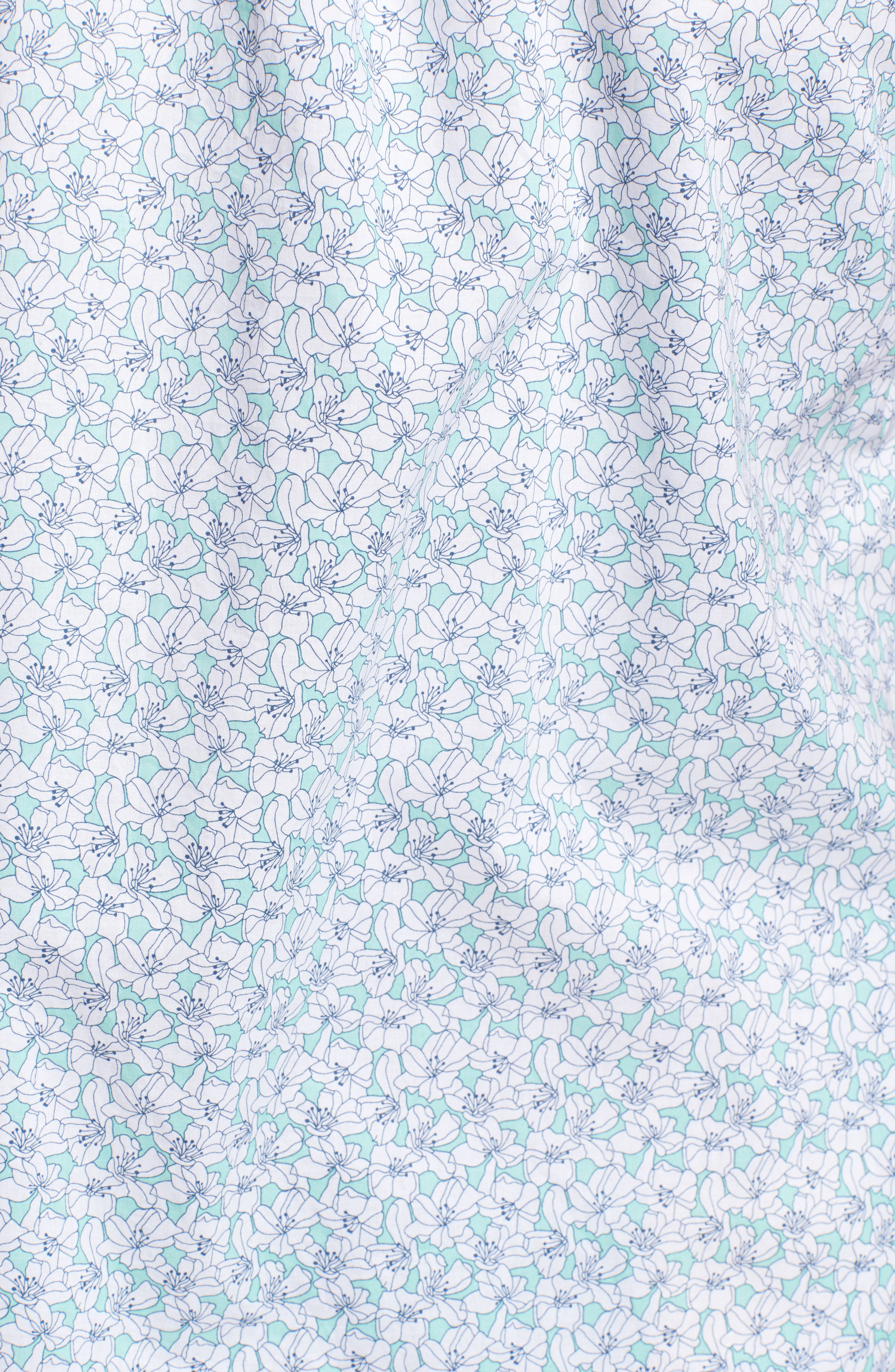 Alternate Image 5  - TWENTYMETRICTONS Slim Flit Floral Woven Shirt