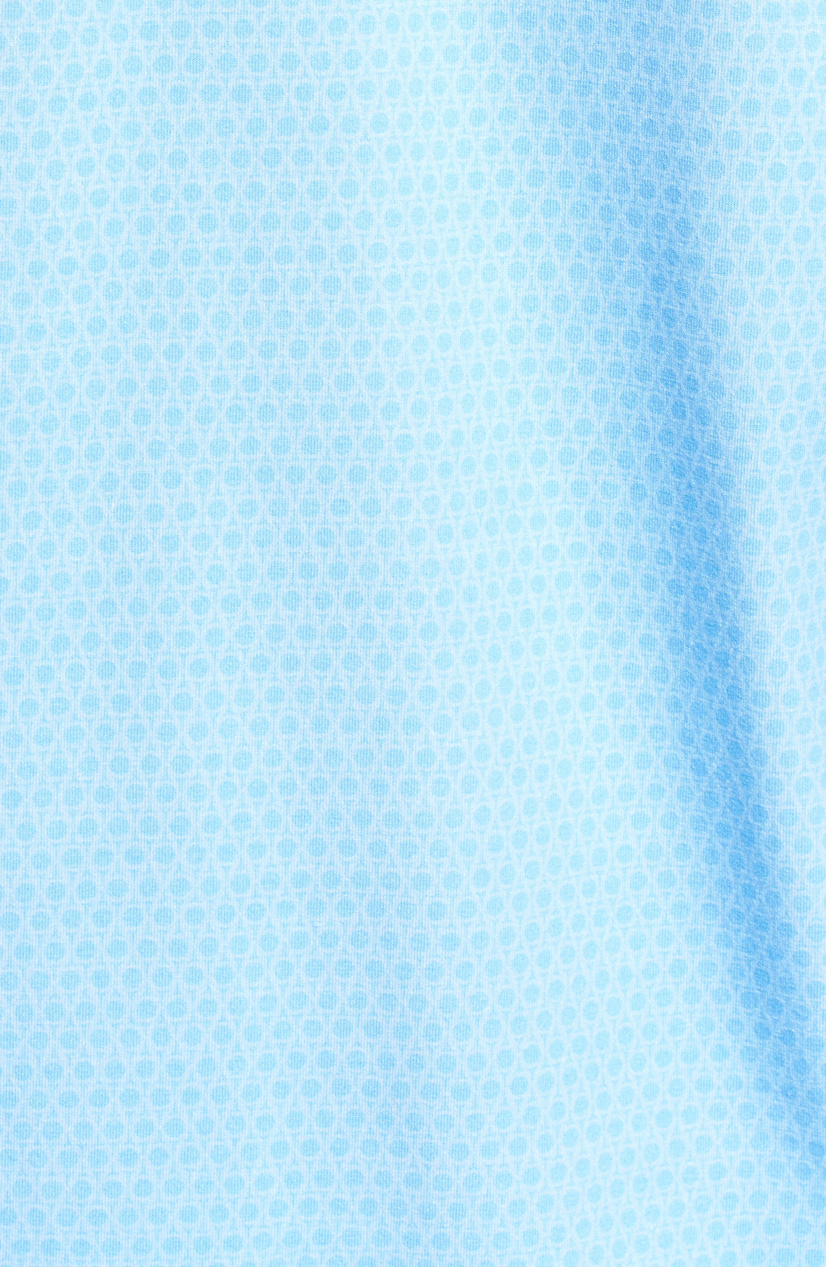 Placement Trim Fit Golf Polo,                             Alternate thumbnail 5, color,                             Blue