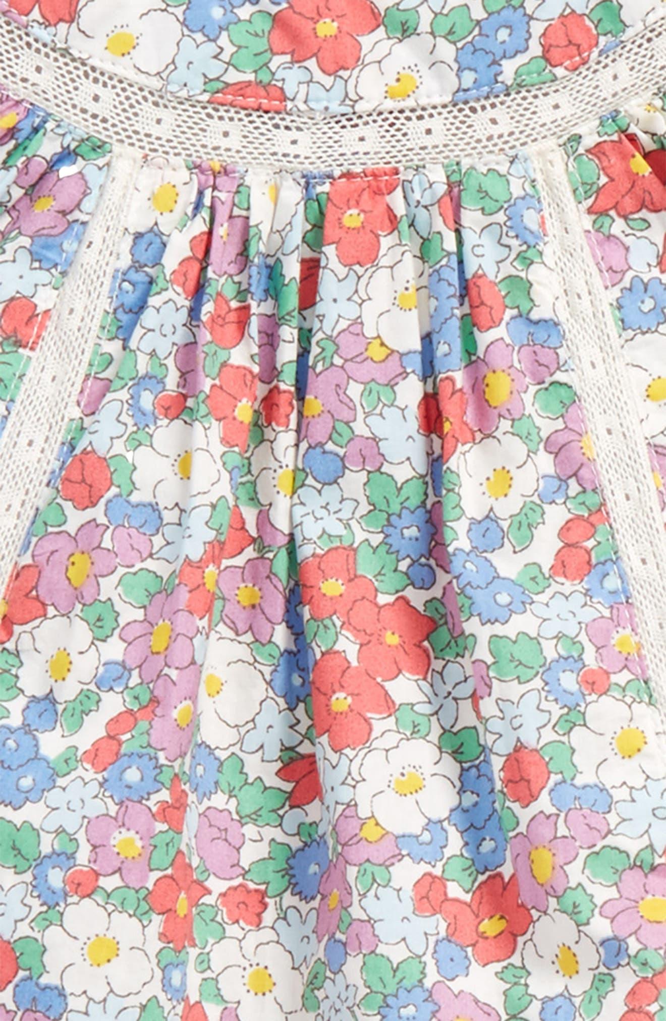 Pretty Woven Tunic & Pants Set,                             Alternate thumbnail 2, color,                             Vintage Floral