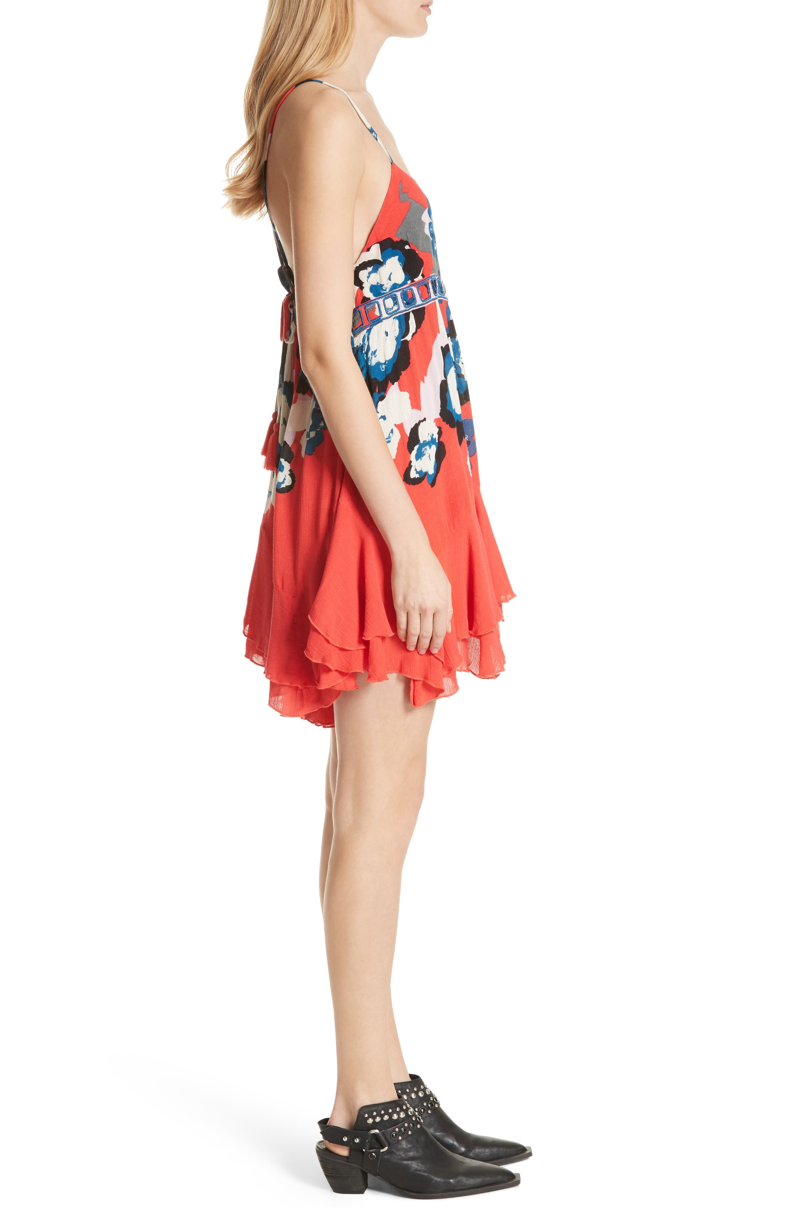 Sweet Lucy Slipdress,                             Alternate thumbnail 3, color,                             Red