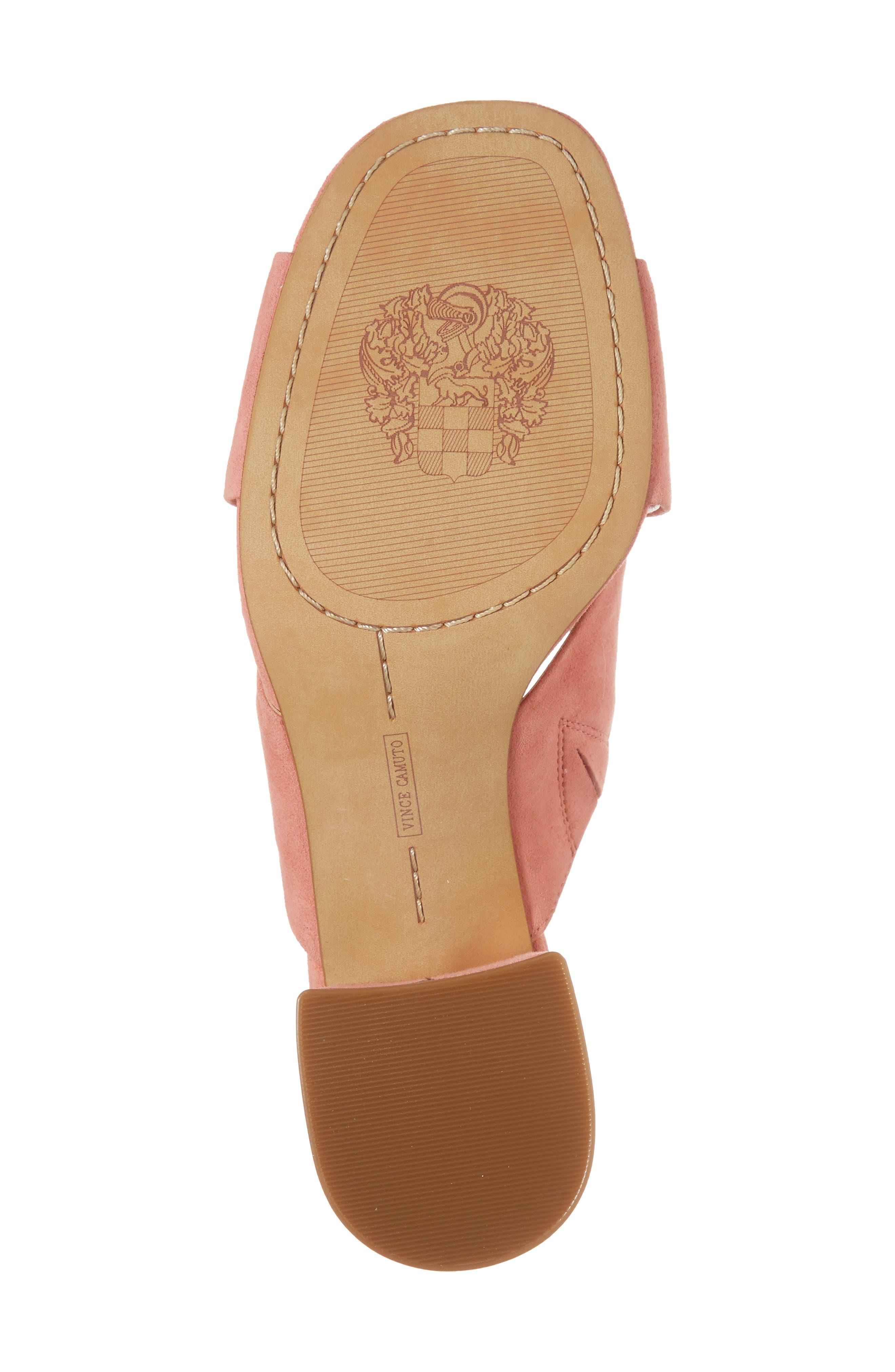 Stania Sandal,                             Alternate thumbnail 6, color,                             Fancy Flamingo Suede