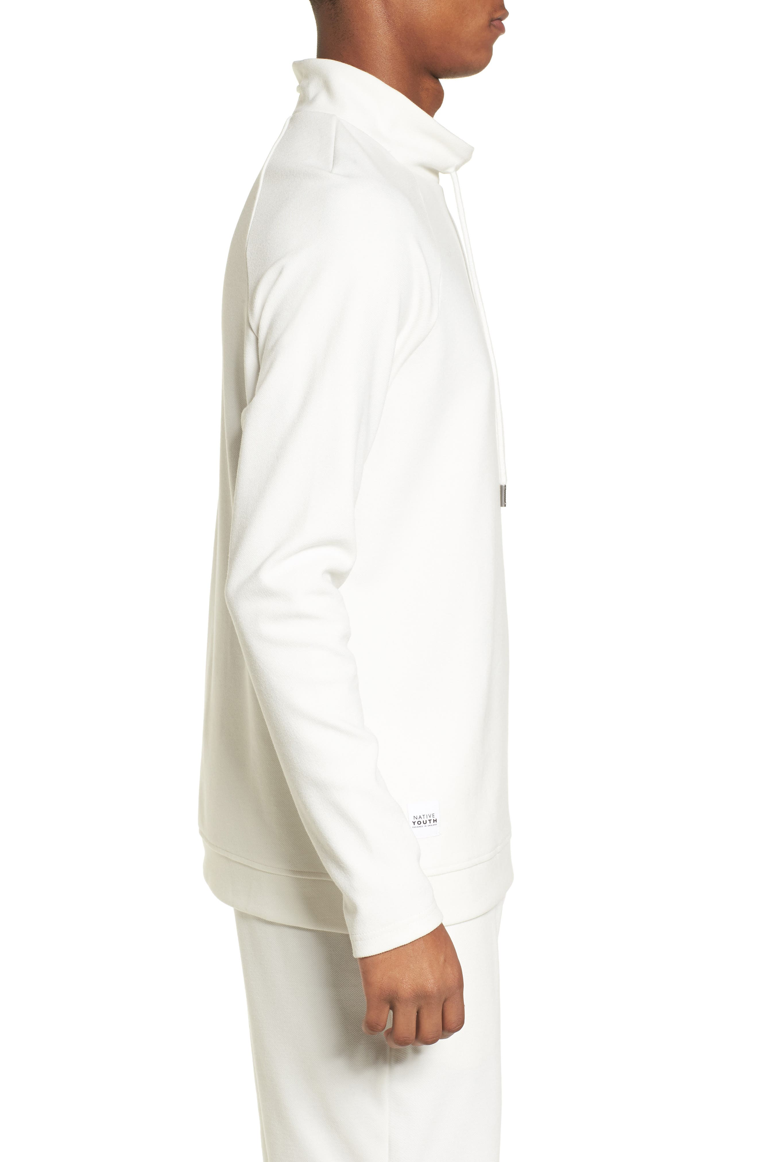 Storm Sweat Hoodie,                             Alternate thumbnail 3, color,                             White
