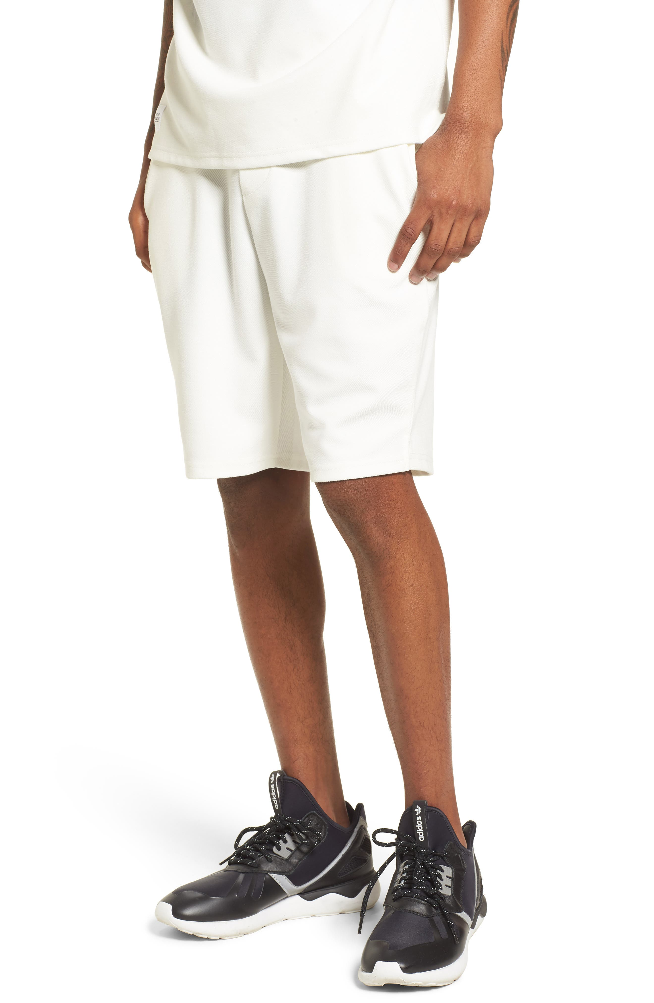 Storm Shorts,                             Main thumbnail 1, color,                             White