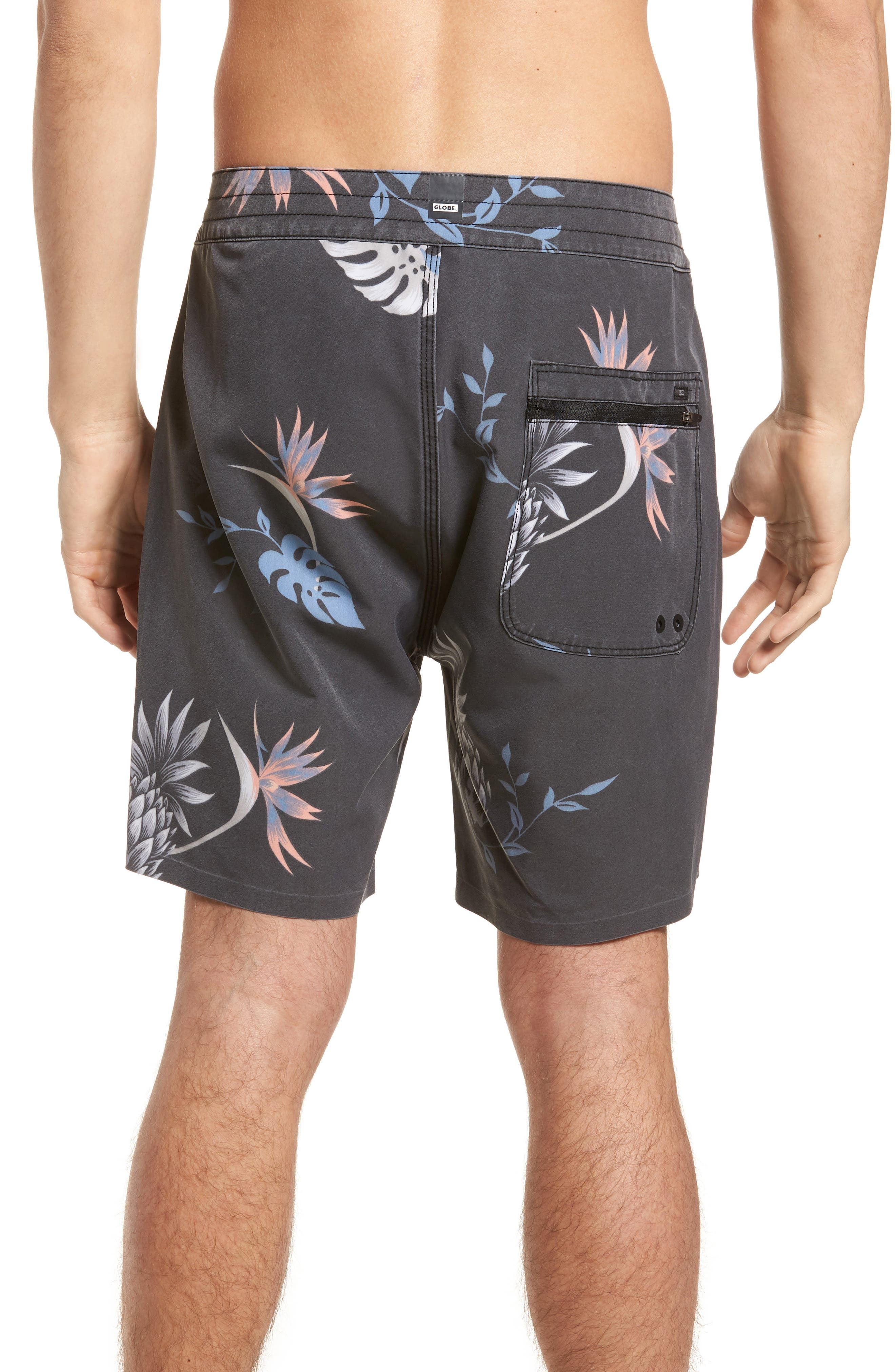 Shangri-La 3.0 Board Shorts,                             Alternate thumbnail 2, color,                             Granite