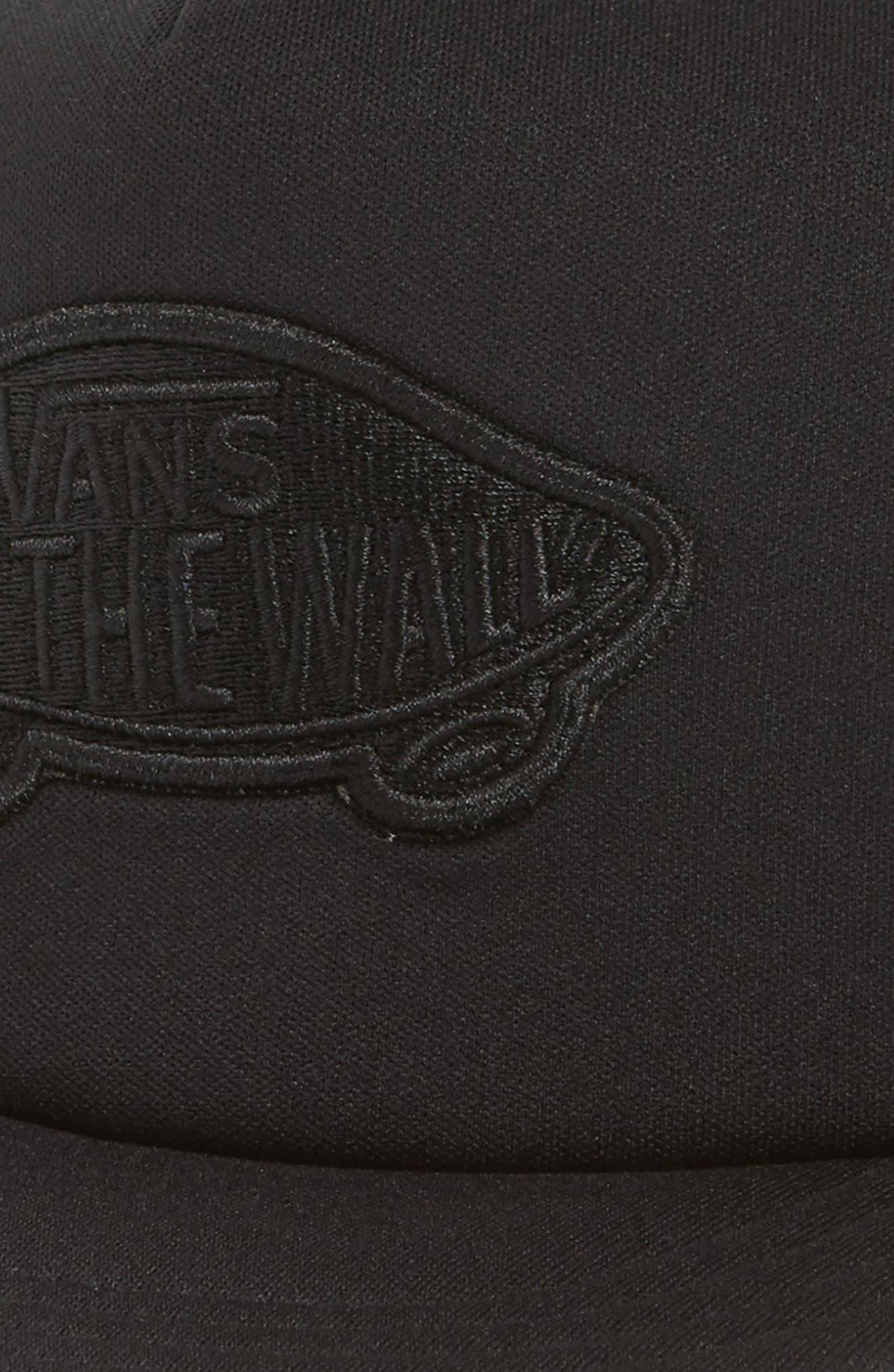 Classic Patch Trucker Hat,                             Alternate thumbnail 3, color,                             Black