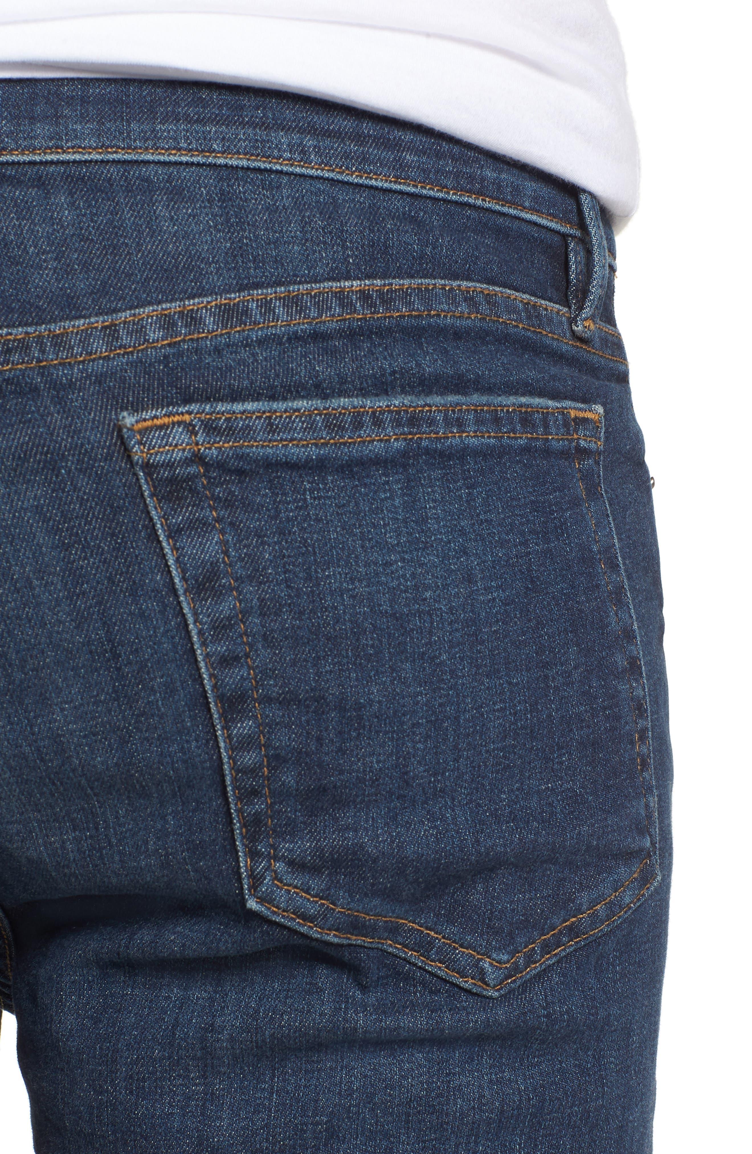 L'Homme Skinny Jeans,                             Alternate thumbnail 4, color,                             Loris