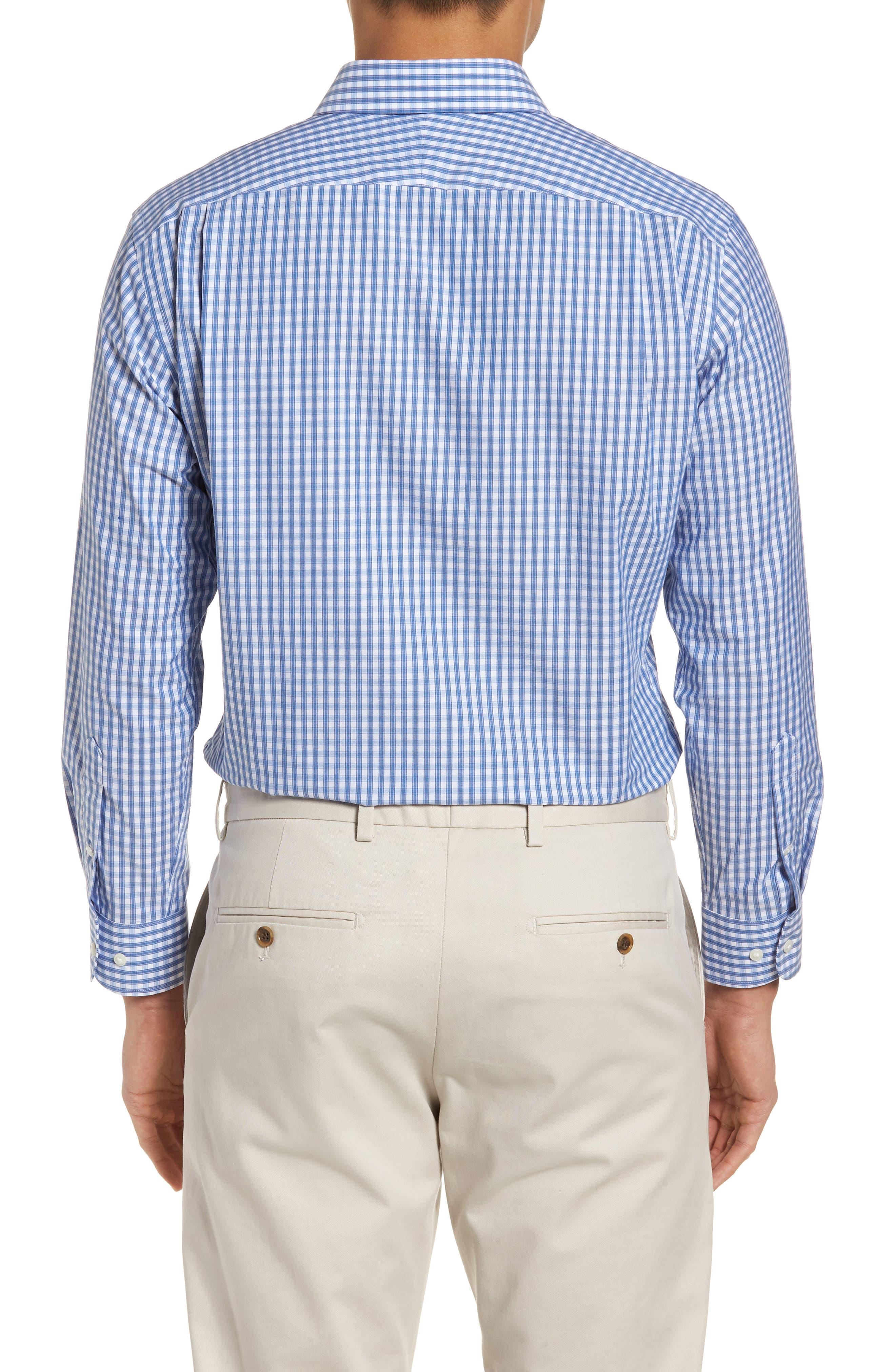 Alternate Image 2  - Nordstrom Men's Shop Trim Fit Non-Iron Check Dress Shirt