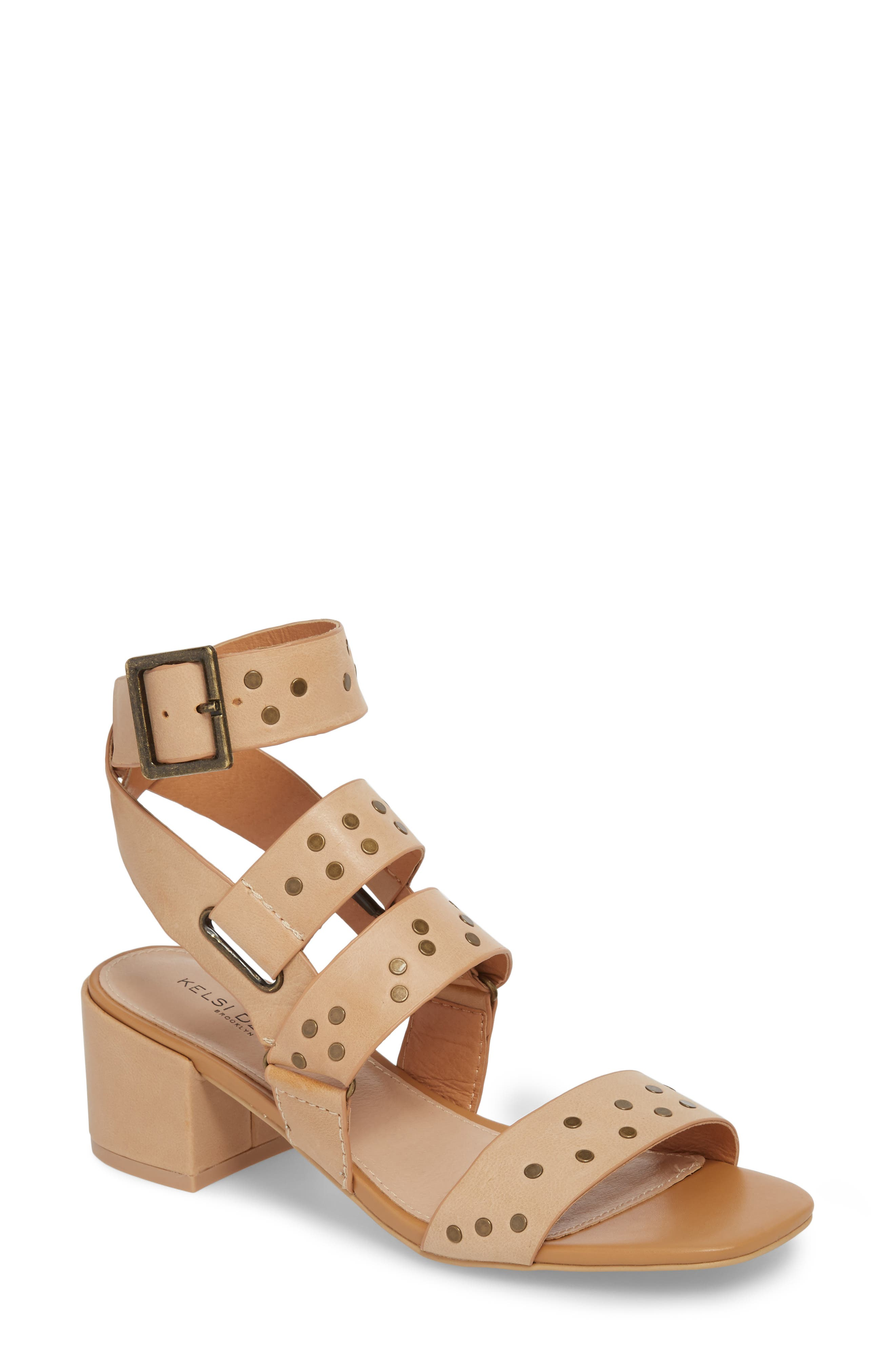 Seabring City Sandal,                         Main,                         color, Tan Leather