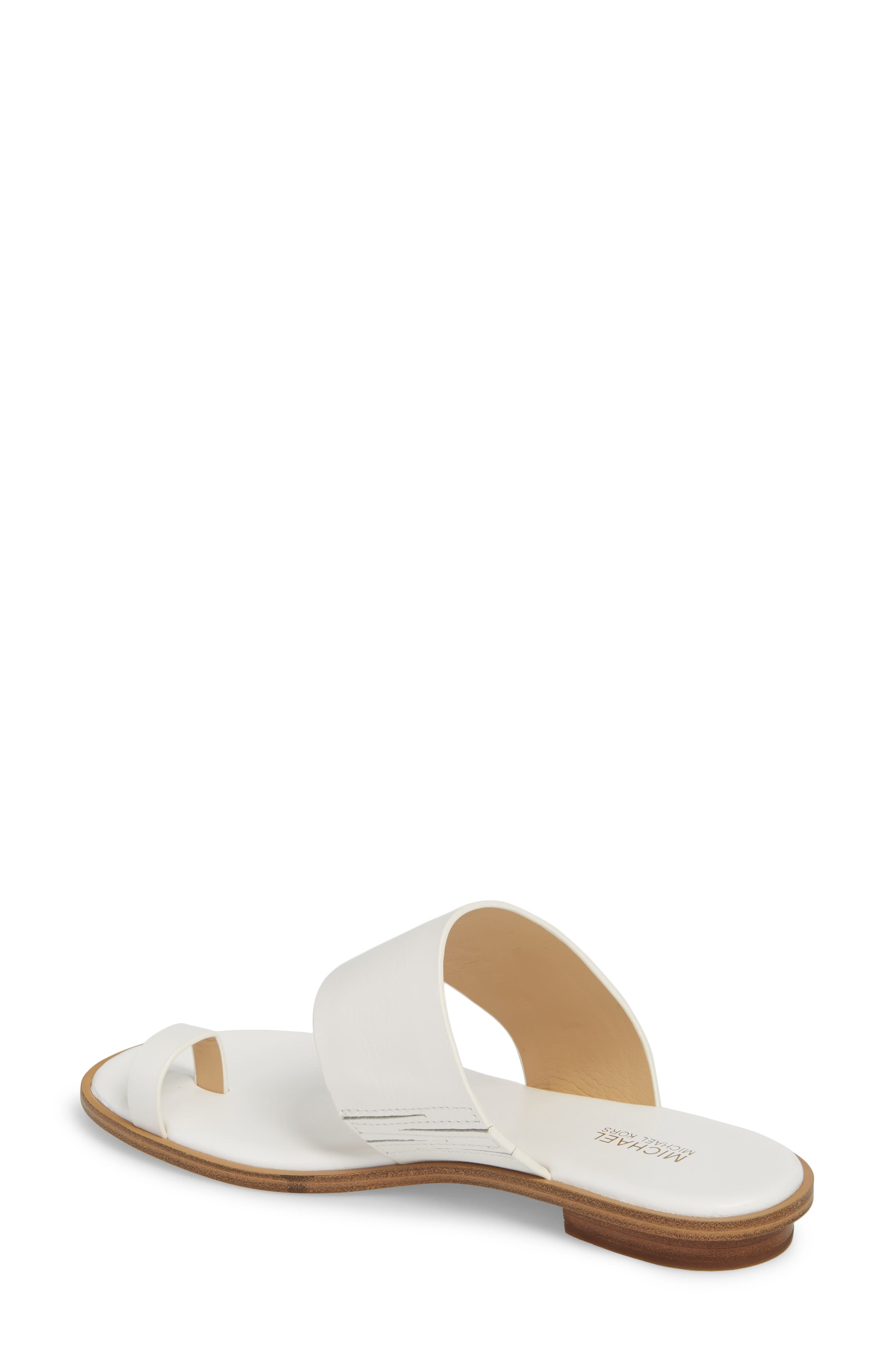 Sonya Sandal,                             Alternate thumbnail 2, color,                             Optic White Leather