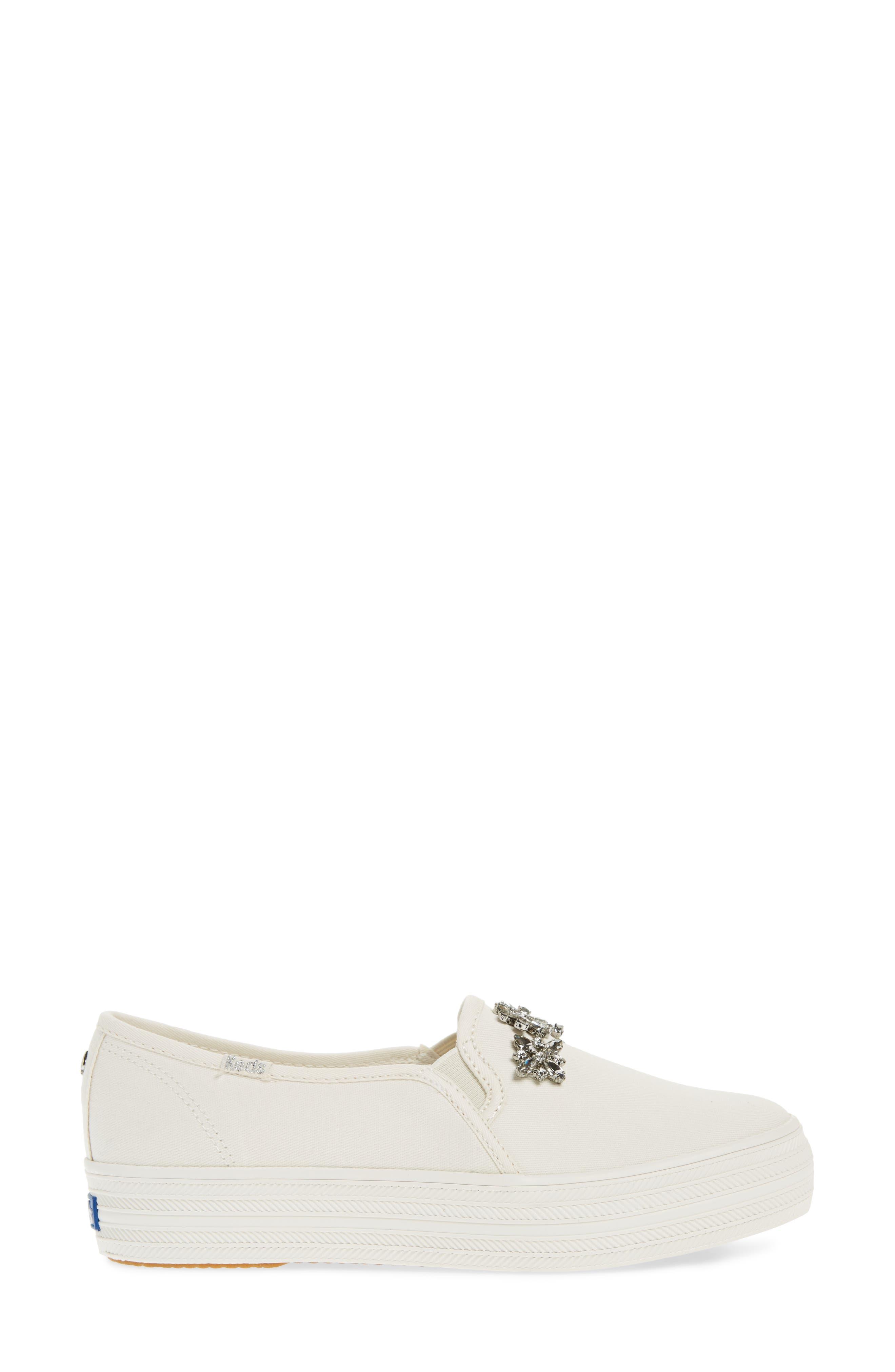 Alternate Image 3  - Keds® for kate spade new york triple decker stones slip-on sneaker (Women)