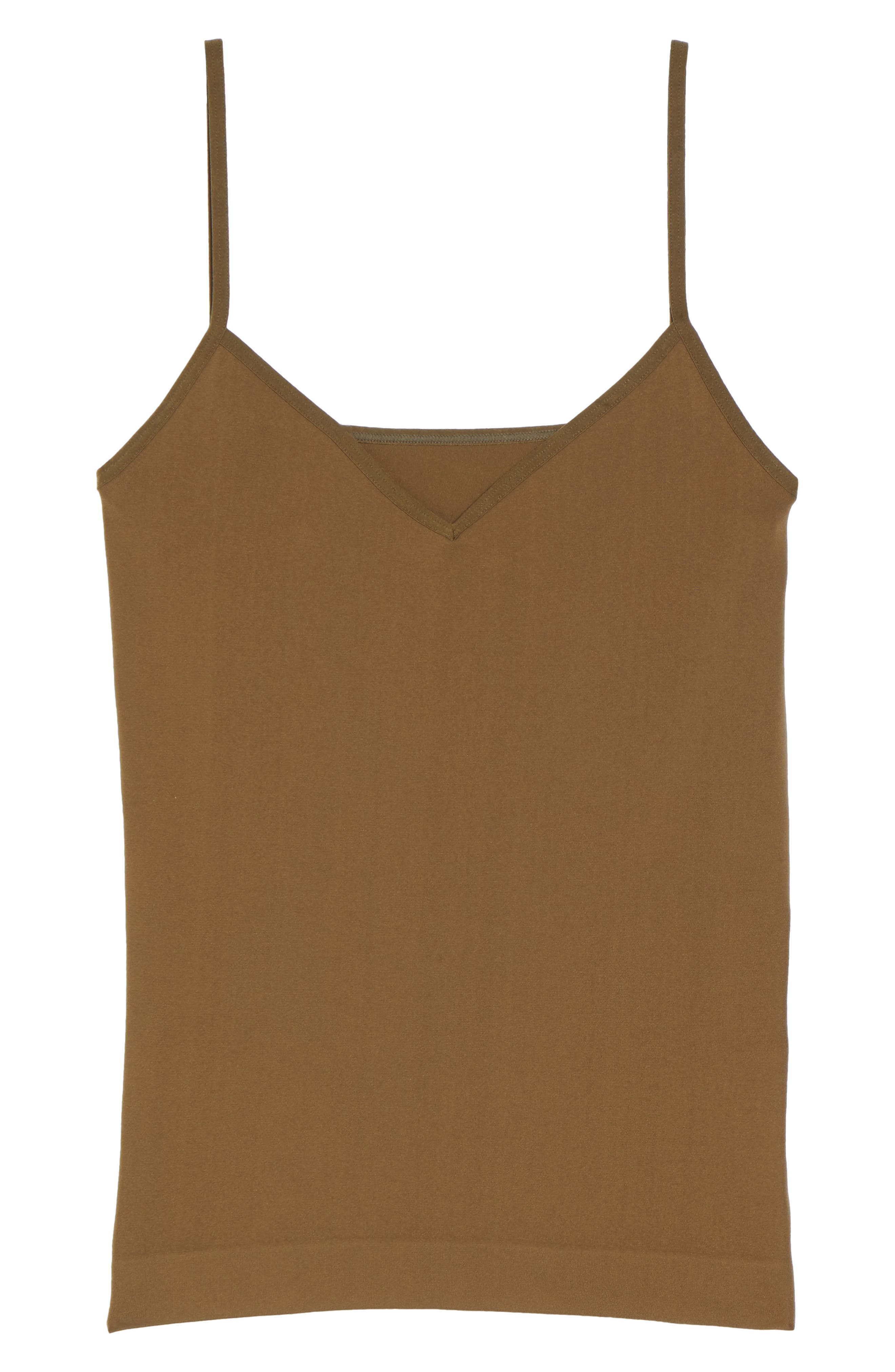 Seamless Two-Way Camisole,                             Alternate thumbnail 7, color,                             Olive Tree